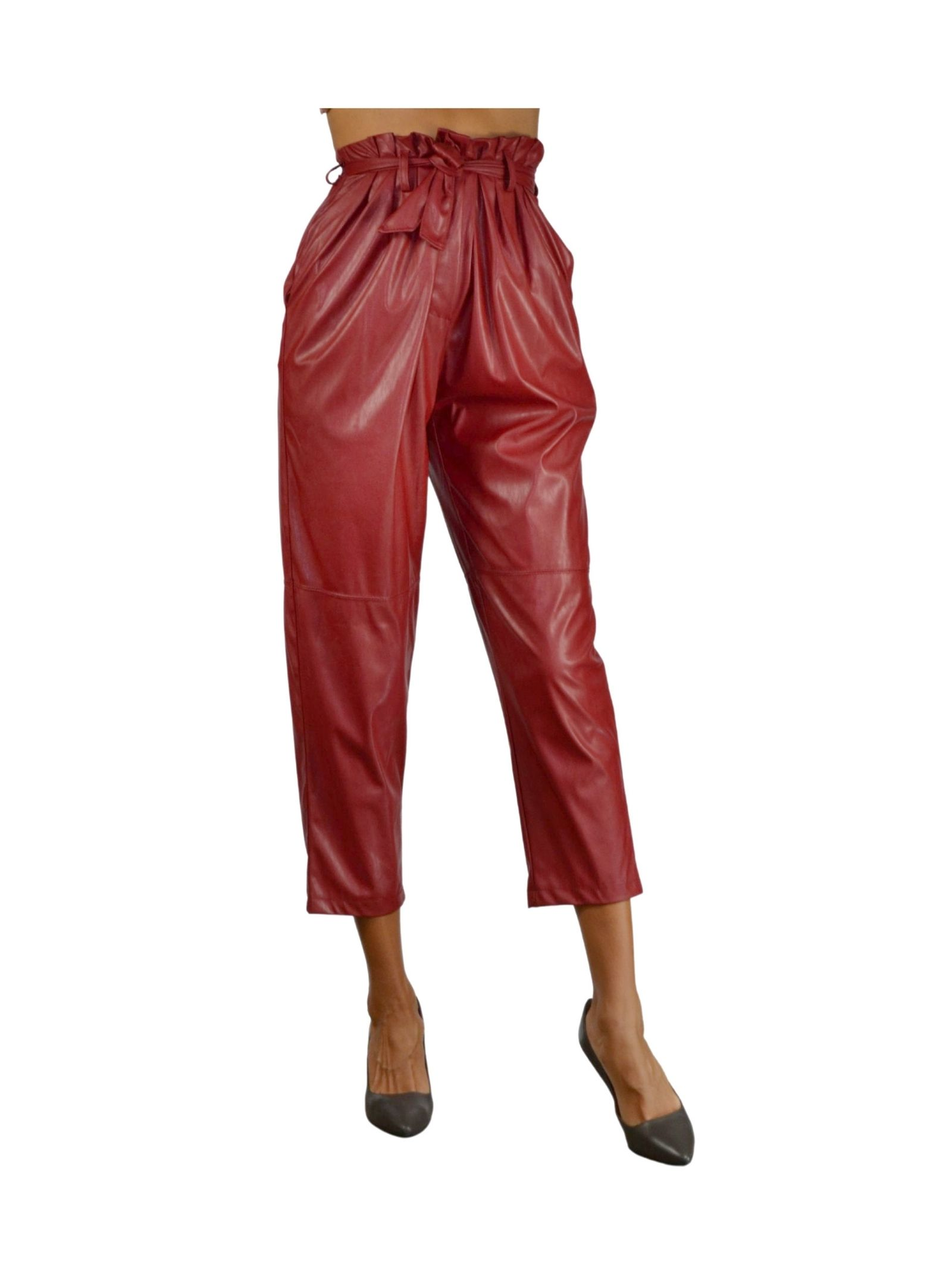 Red Woman Trousers Pink Memories | Skirts and Pants | 1094305