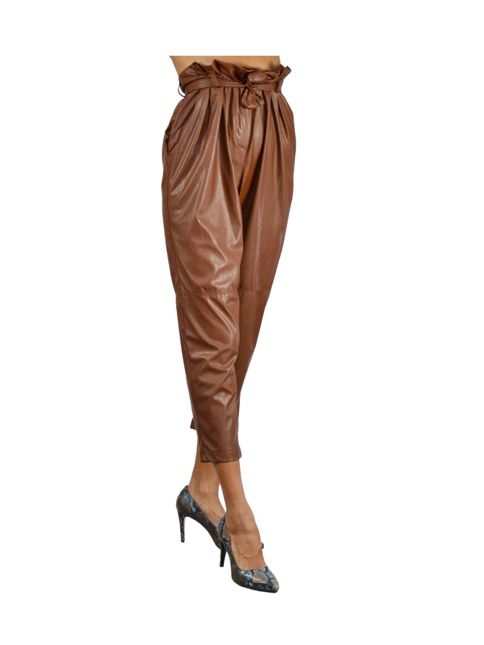 Pantalone Donna Ruggine Pink Memories | Gonne e Pantaloni | 1094318