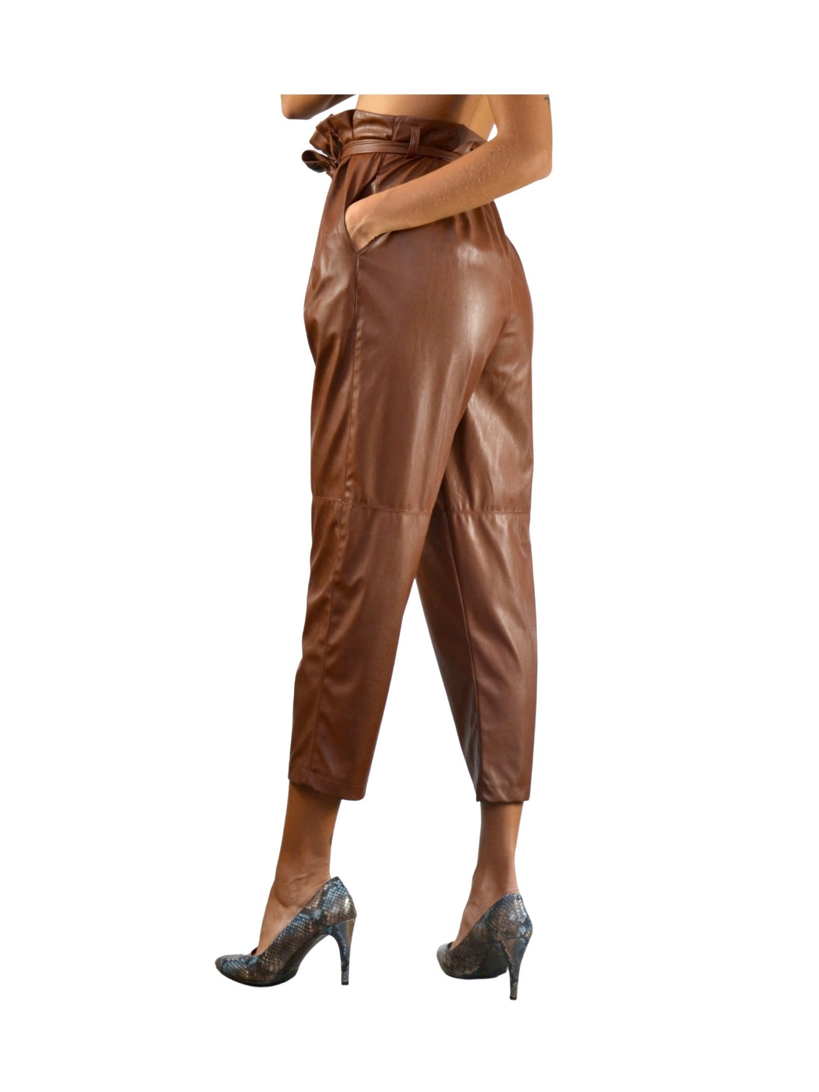 Rust Woman Trousers Pink Memories | Skirts and Pants | 1094318