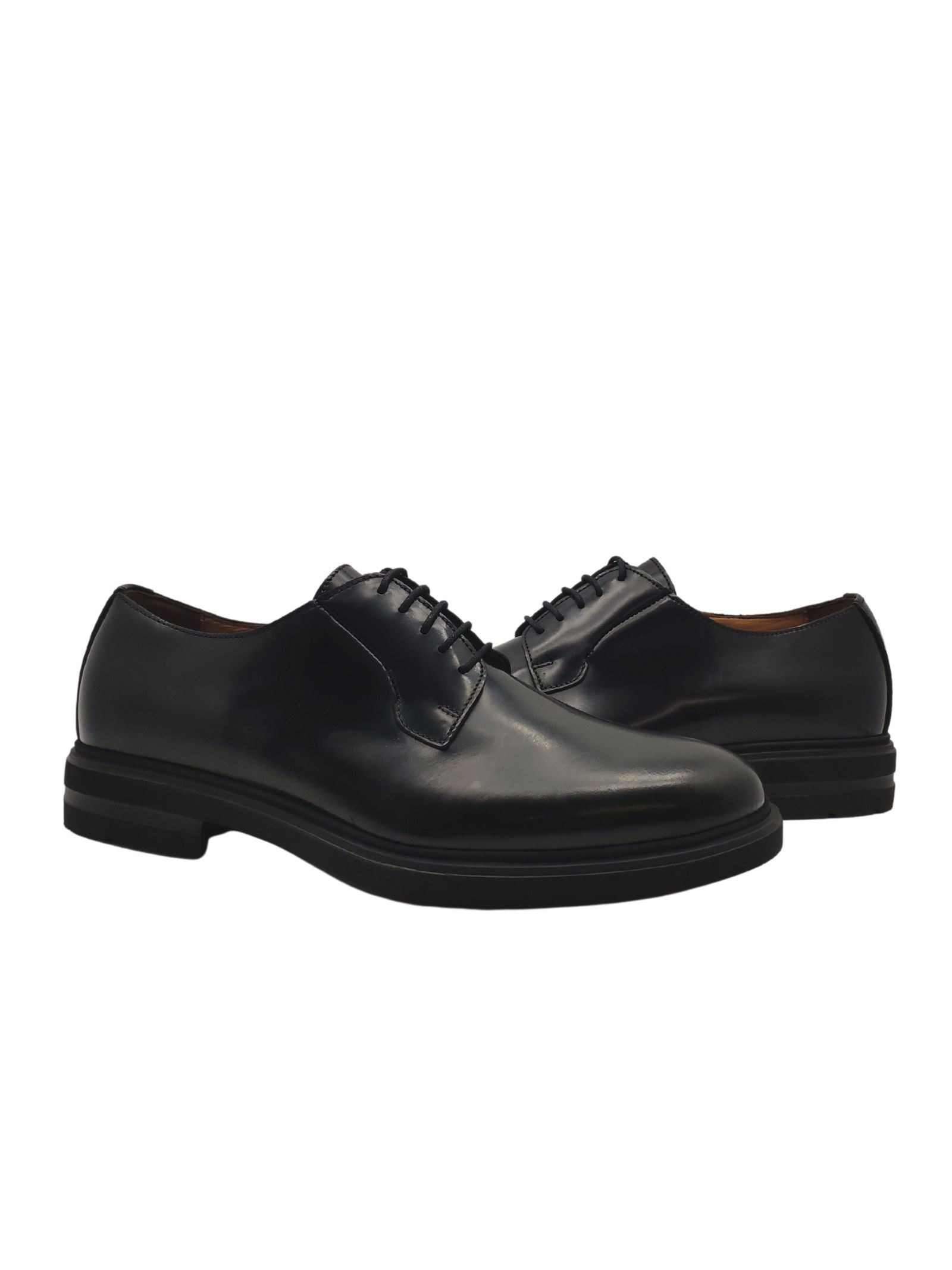 Smooth Lace-ups for Men Rogal's   Lace up shoes   136NERO