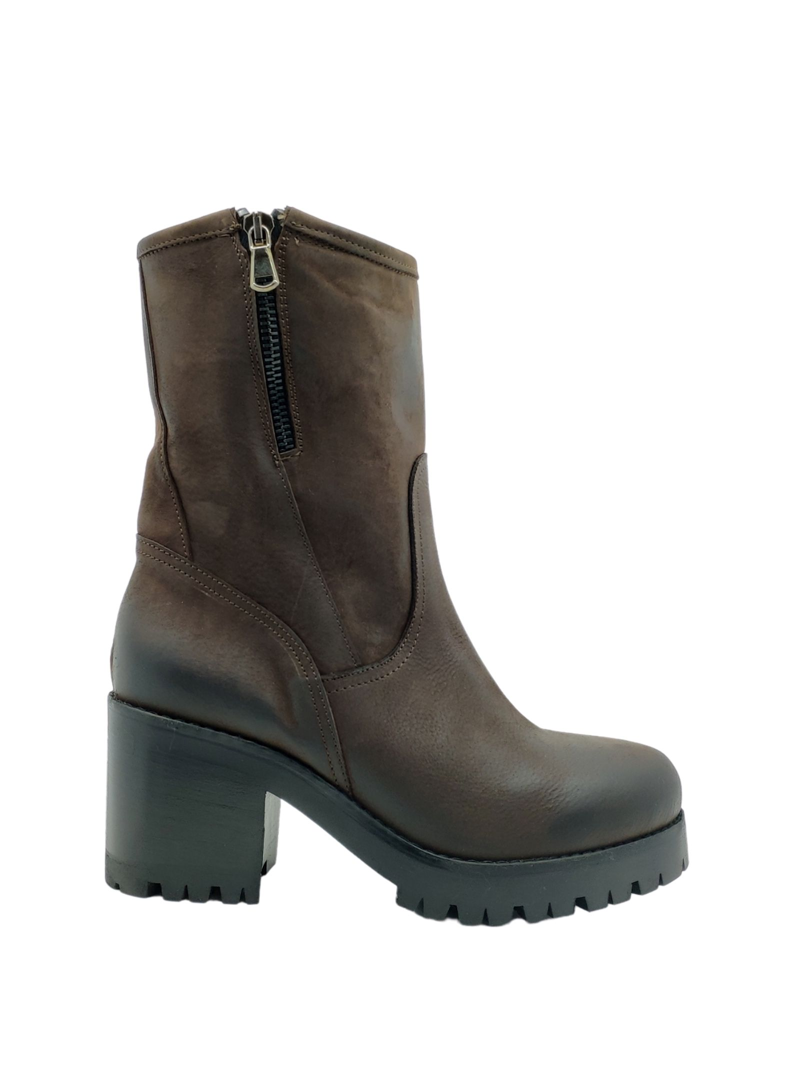 Women's Zip Amphibious Ankle Boots Tattoo   Ankle Boots   GIULIA13SMORO
