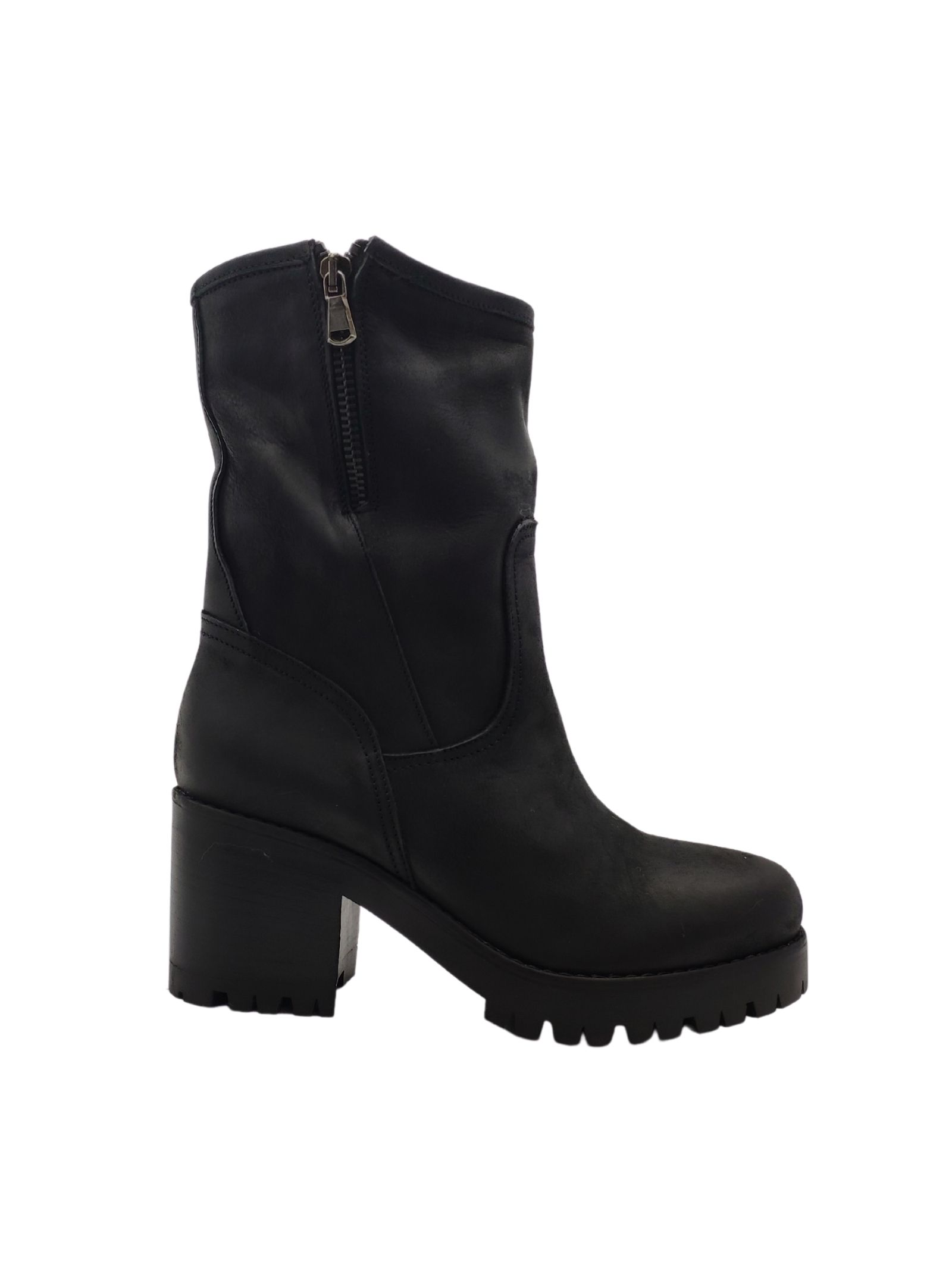 Women's Zip Amphibious Ankle Boots Tattoo | Ankle Boots | GIULIA13SNERO