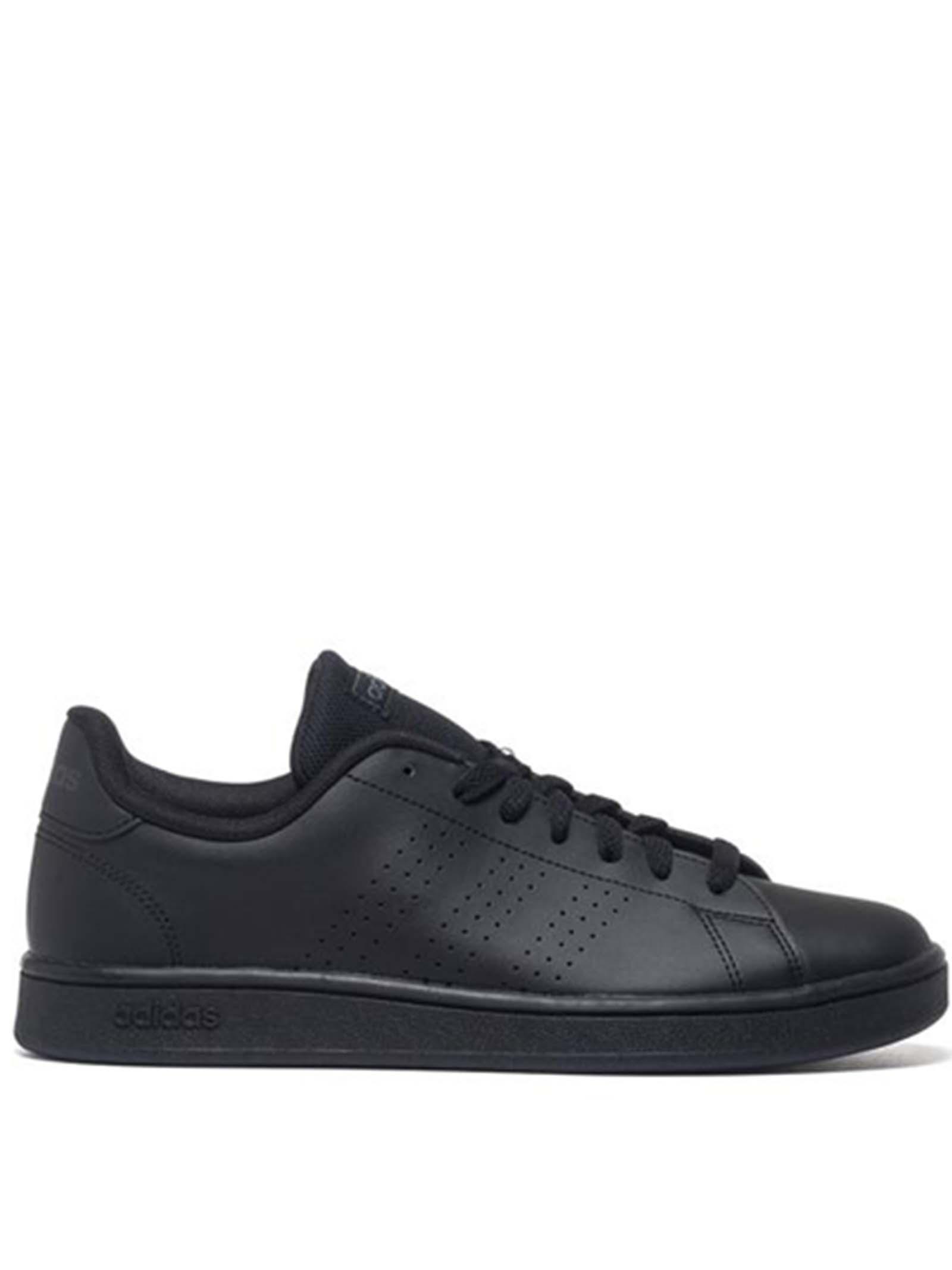 Calzature Uomo Sneakers Advantage Base in Ecopelle Nera EE7693 Adidas   Sneakers   ADVANTAGE BASEEE7693