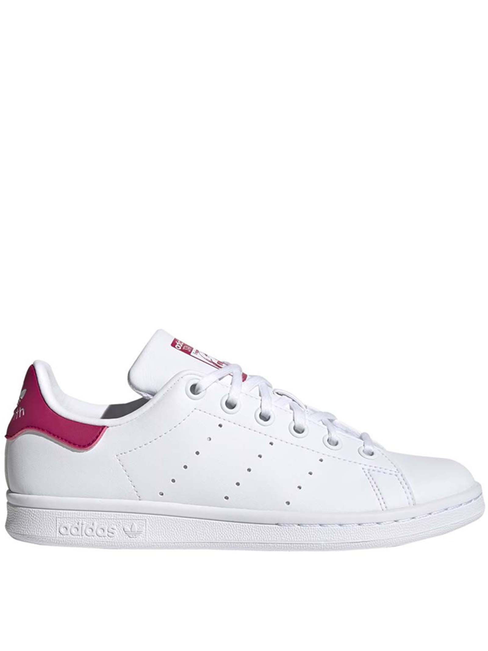 Women's Sneakers Stan Smith in Eco-leather White and Pink FX7522 Adidas | Sneakers | STAN SMITH JFX7522