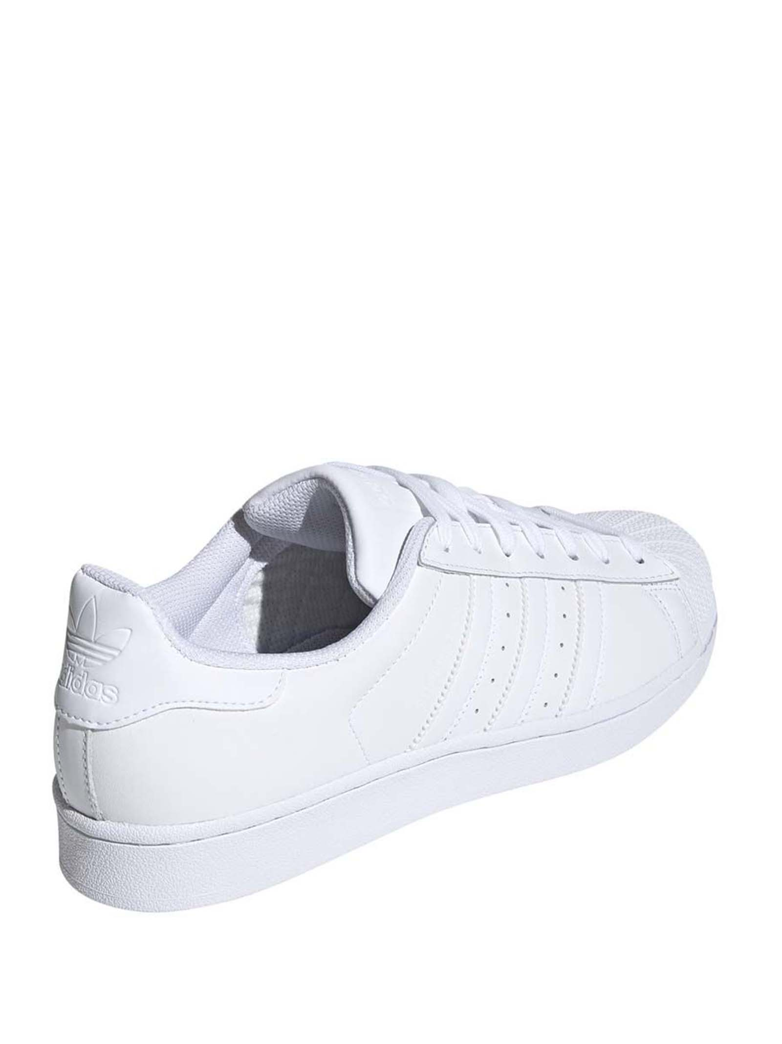 Men's Sneakers Superstar in White Leather EG4960 Adidas   Sneakers   SUPERSTAREG4960