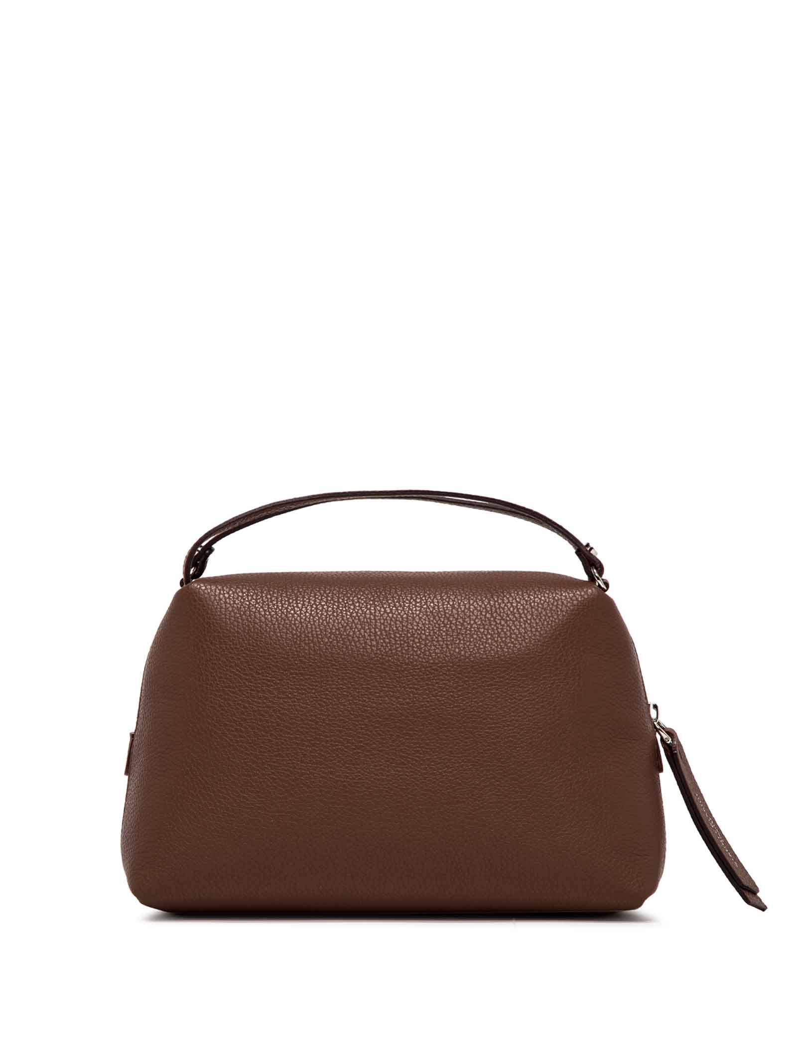 Women's Bag Clutch Maxi Alifa In Brown Leather With Adjustable And Detachable Cross-body Strap Gianni Chiarini | Bags and backpacks | BS81483423