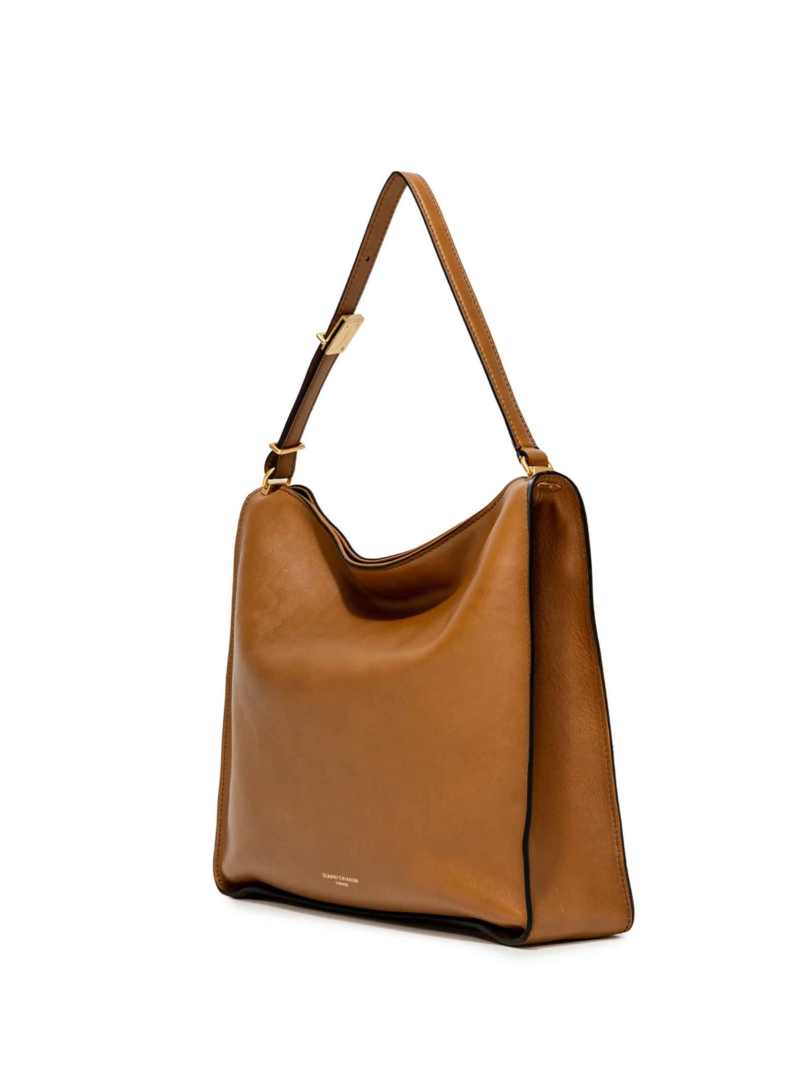 Women's Bag Renee in Tan Leather with Matched Adjustable Handle Gianni Chiarini | Bags and backpacks | BS8891206