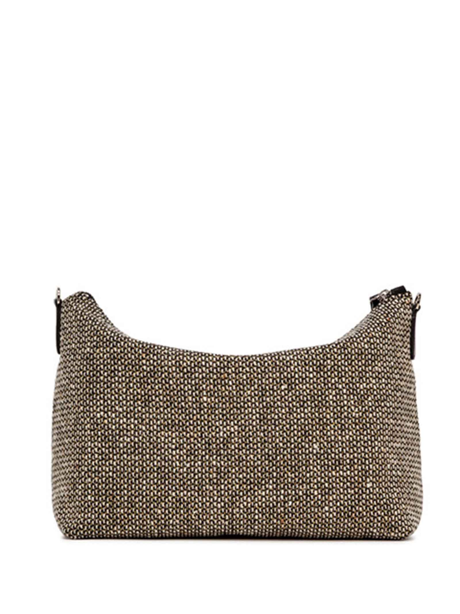 Women's Accessories Empty Bag in Tan Fabric with Leather Shoulder Strap and Bracelet Gianni Chiarini | Bags and backpacks | SB9391206