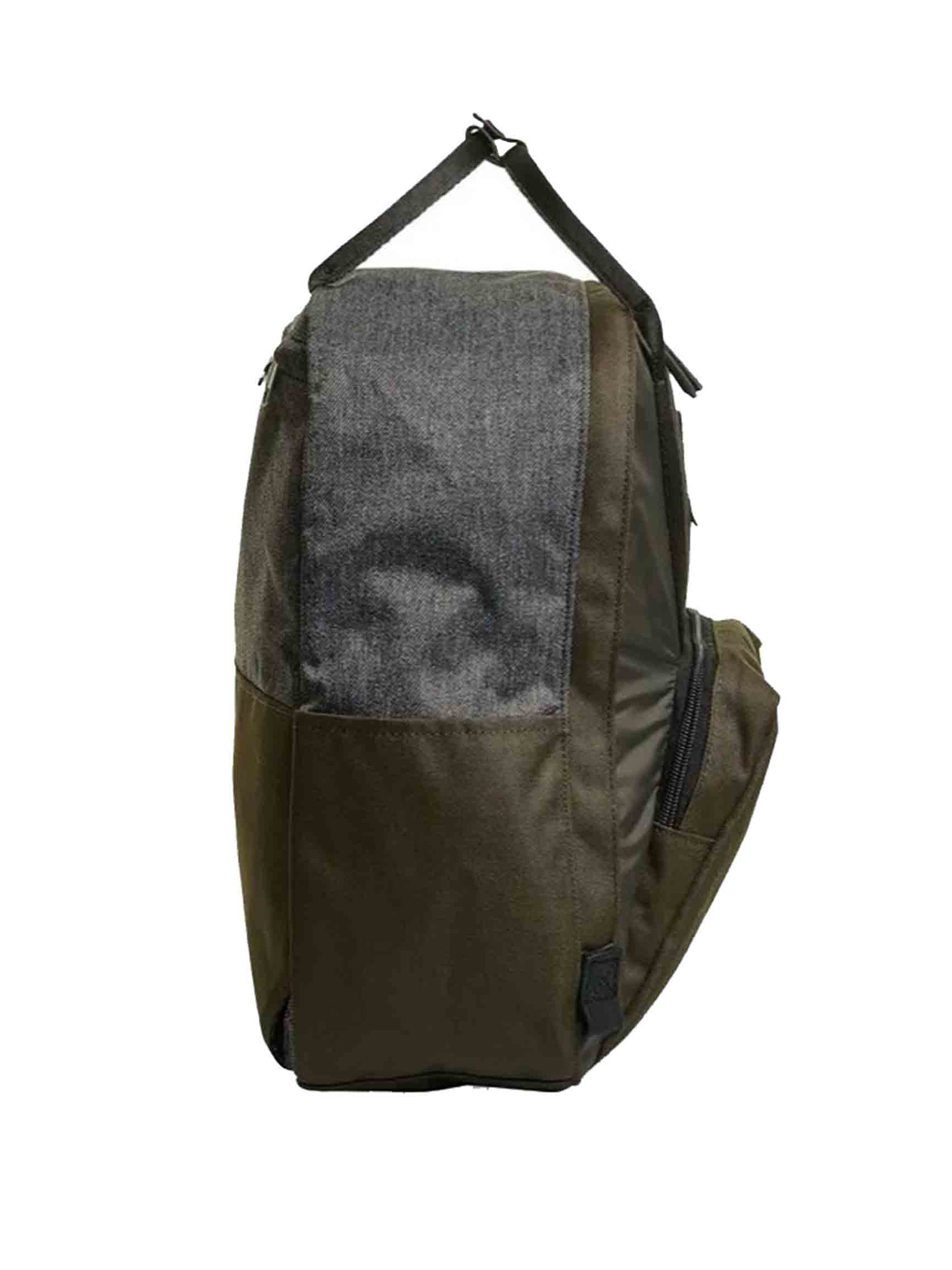 Unisex Icon Collection Shylla Army Green Monochrome Backpack with Padded Back and Shoulder Straps 206002115 Invicta | Bags and backpacks | SHYLLA PREMIUM666