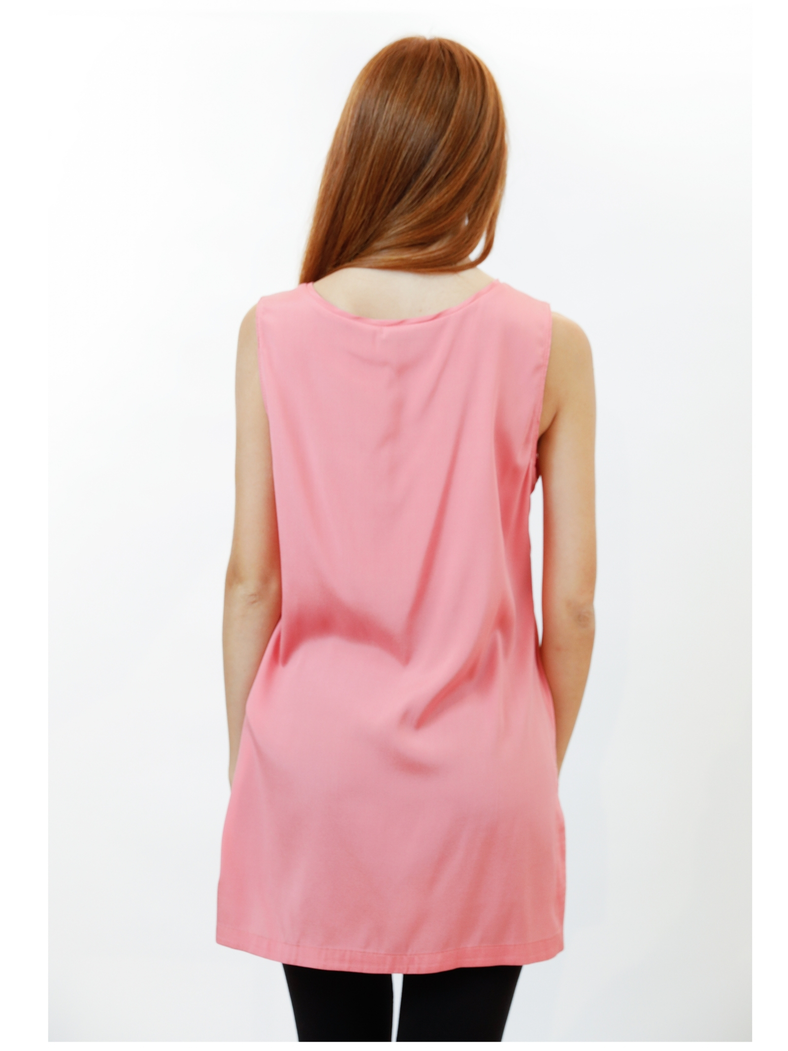 Women's Clothing Silk Satin Top in Pink Pure Silk Maliparmi   Shirts and tops   JP50793102031024