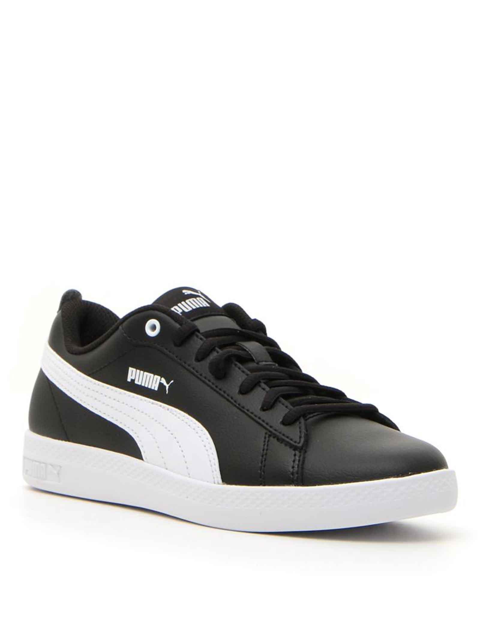Calzature Uomo Sneakers Smash V2 in Ecopelle Nero 365215-004 Puma   Sneakers   SMASH V204