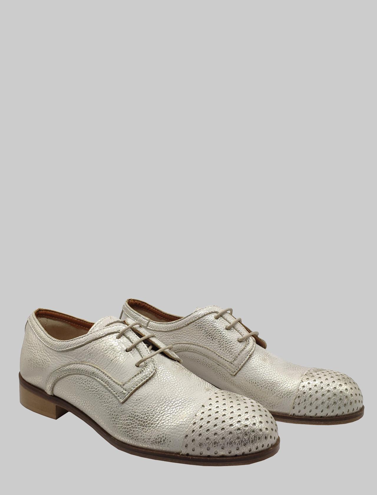 Spatarella | Lace up shoes | 1806PLATINO