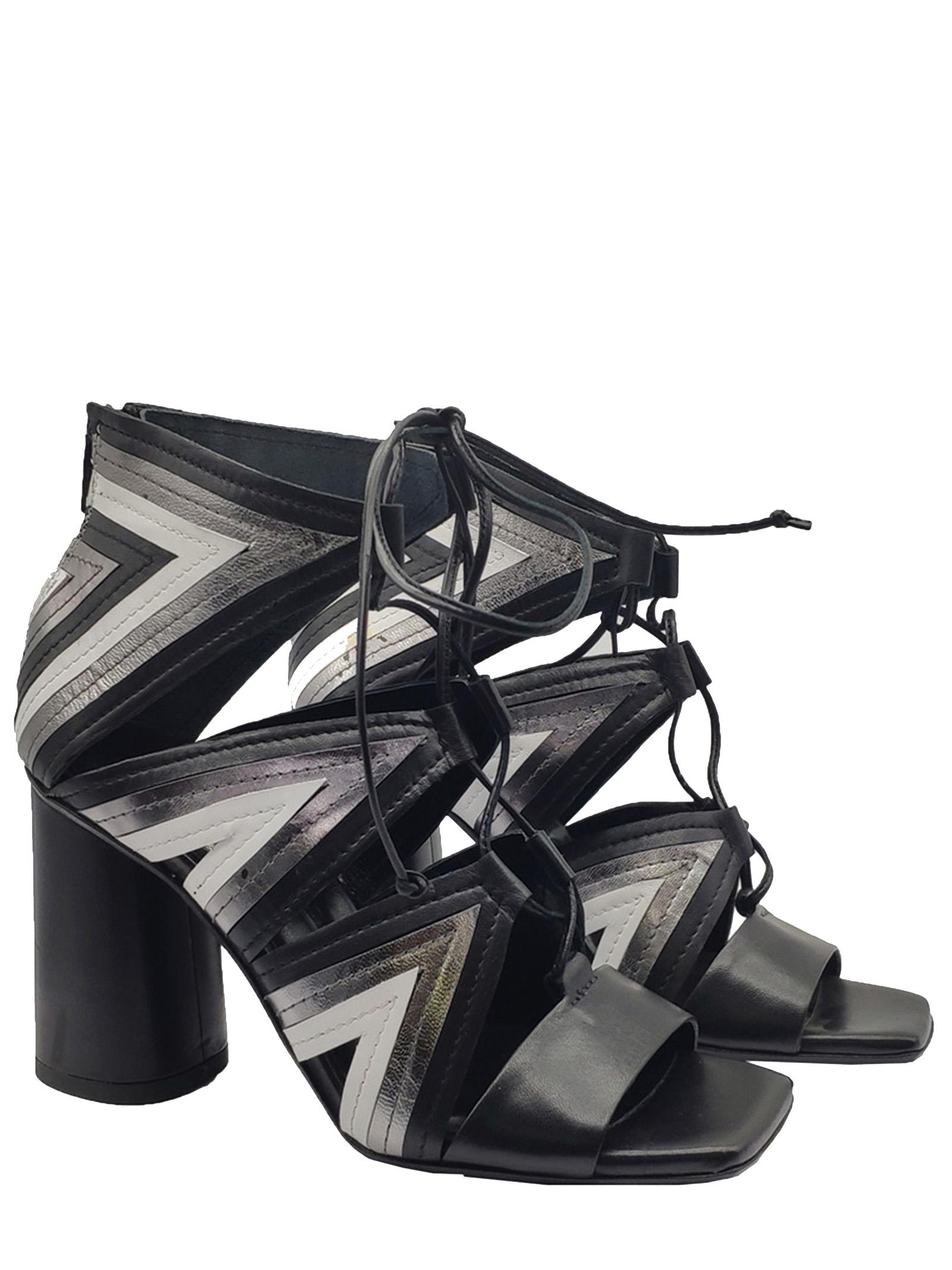 Fiori Francesi   Sandals   PE19053NERO