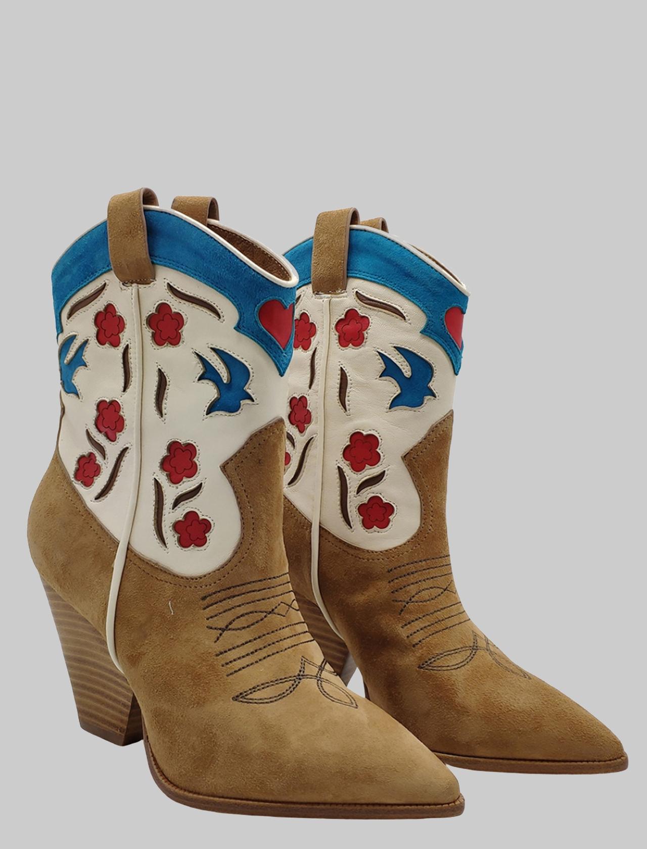 Lola Cruz | Ankle Boots | 299T30BKCAMEL