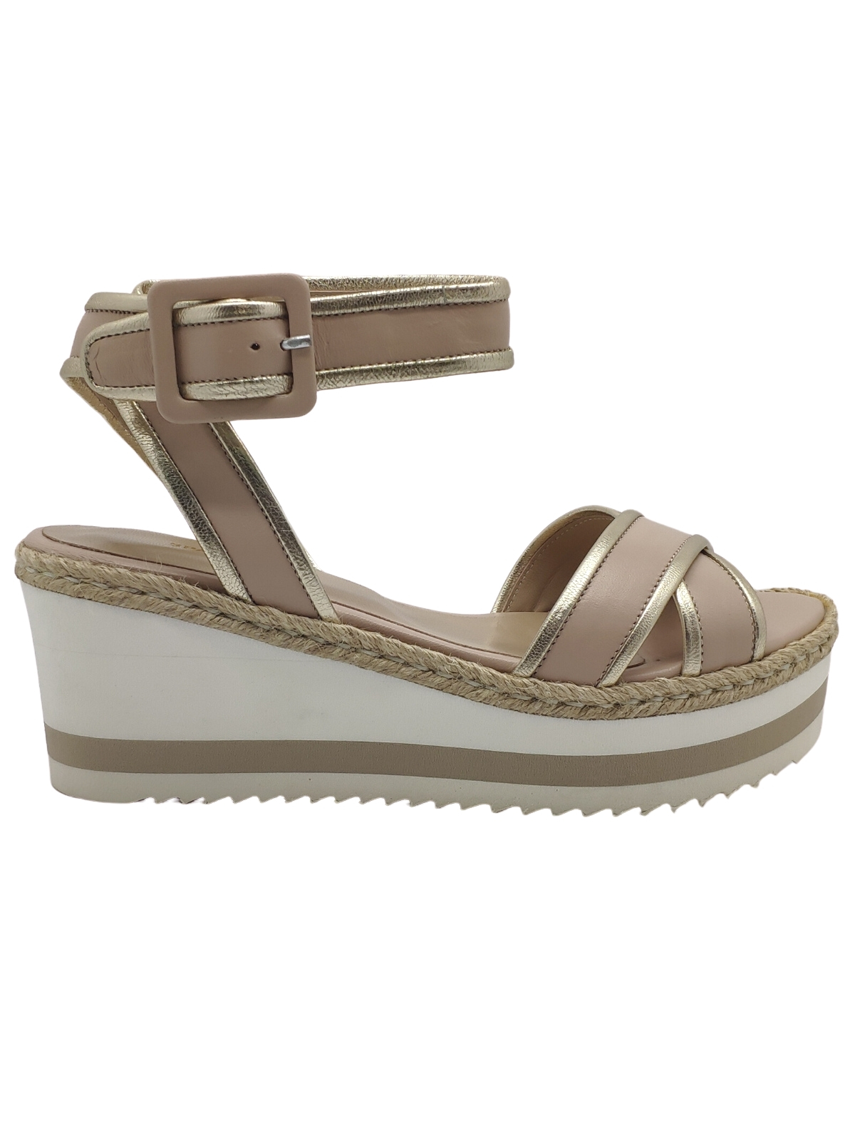 Women's Wedge Sandals and Strap Spatarella | Wedge Sandals | 9328NUDE