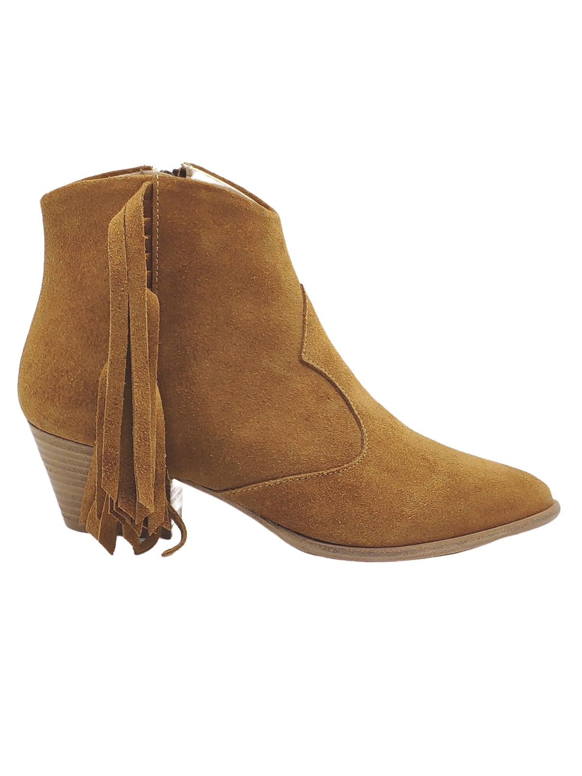 Women's Texan Ankle Boots with Fringes Spatarella | Ankle Boots | F46CUOIO
