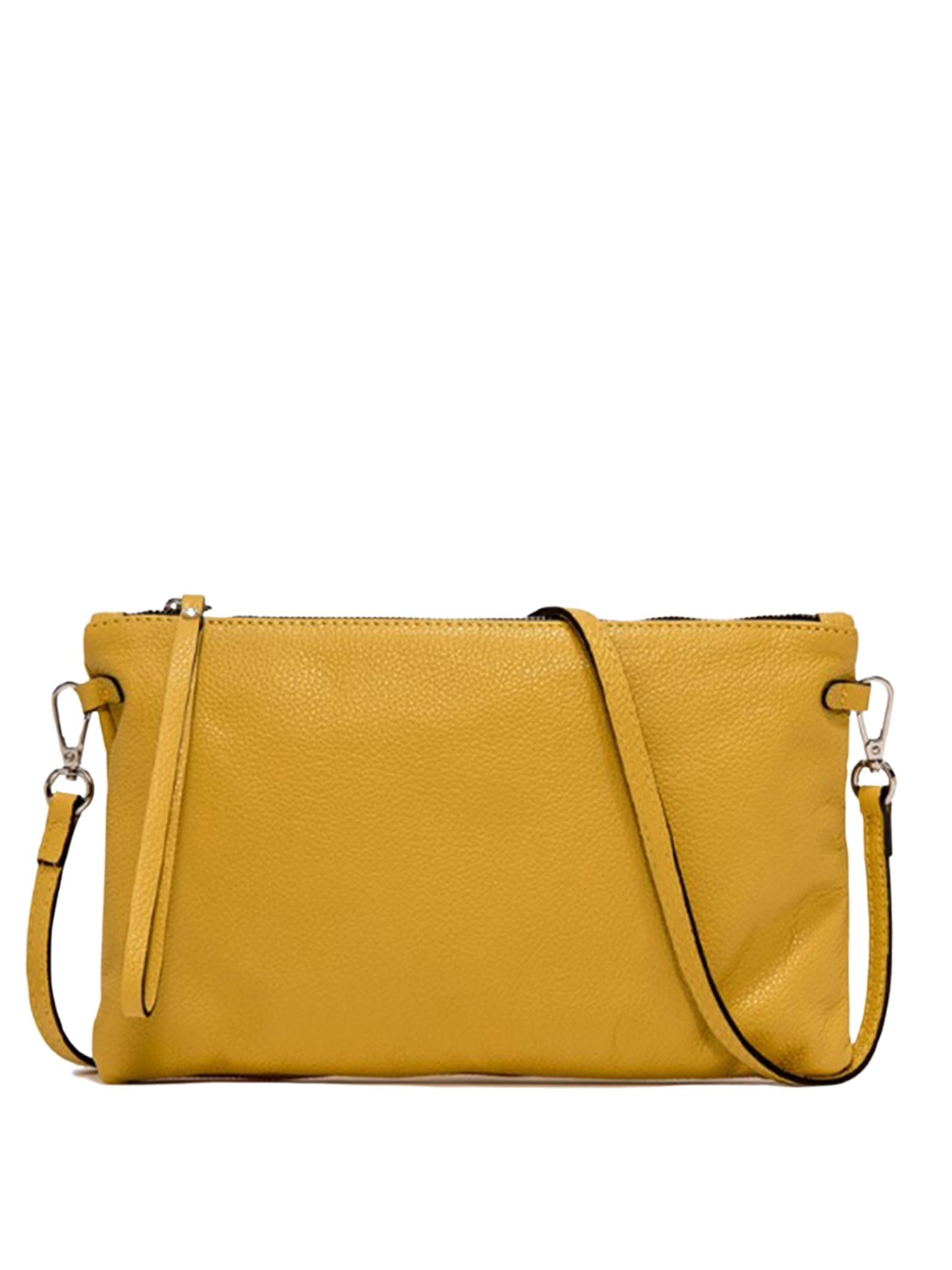 Big Clutch Hermy Clutch Bag In Leather And Adjustable And Removable Shoulder Strap Gianni Chiarini | Bags and backpacks | BS369511040