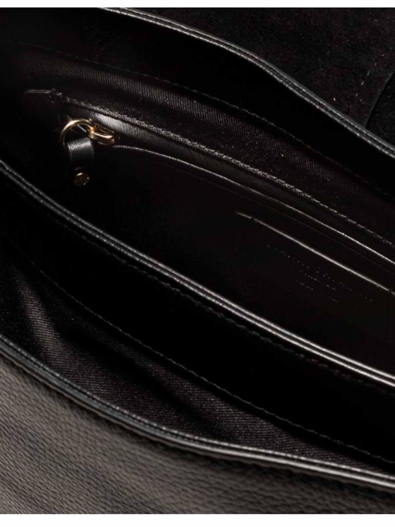 Borsa Donna Tracolla Helena Round in Pelle Nera Con Manico in Tinta e Tracolla Regolabile e Removibile Gianni Chiarini   Borse e zaini   BS6037001