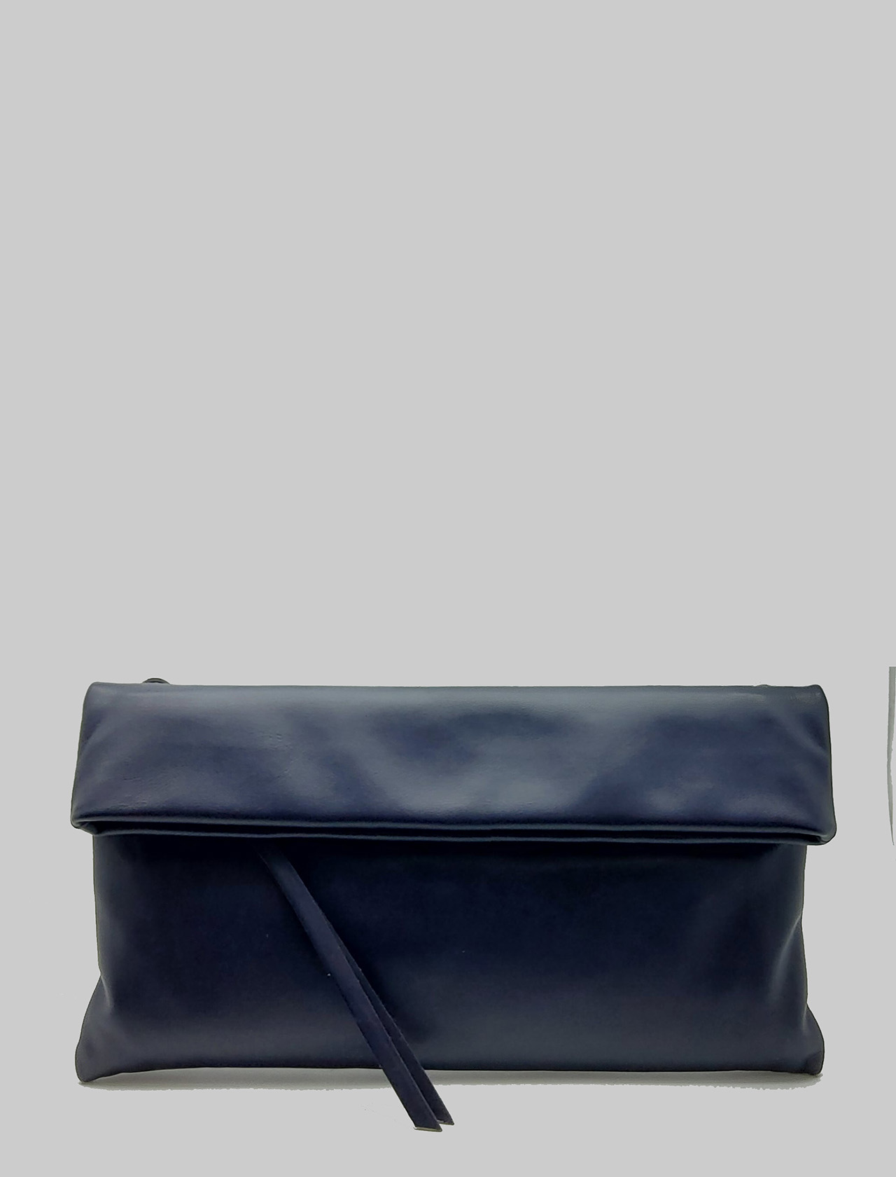 Cherry Women's Clutch Bag In Blue Smooth Leather With Tone Removable Shoulder Strap Gianni Chiarini | Bags and backpacks | BS737511385