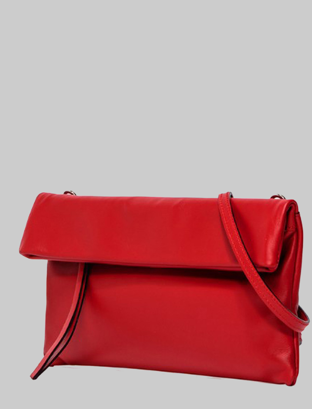 Cherry Women's Clutch Bag In Red Smooth Leather With Tone Removable Shoulder Strap Gianni Chiarini | Bags and backpacks | BS737511707