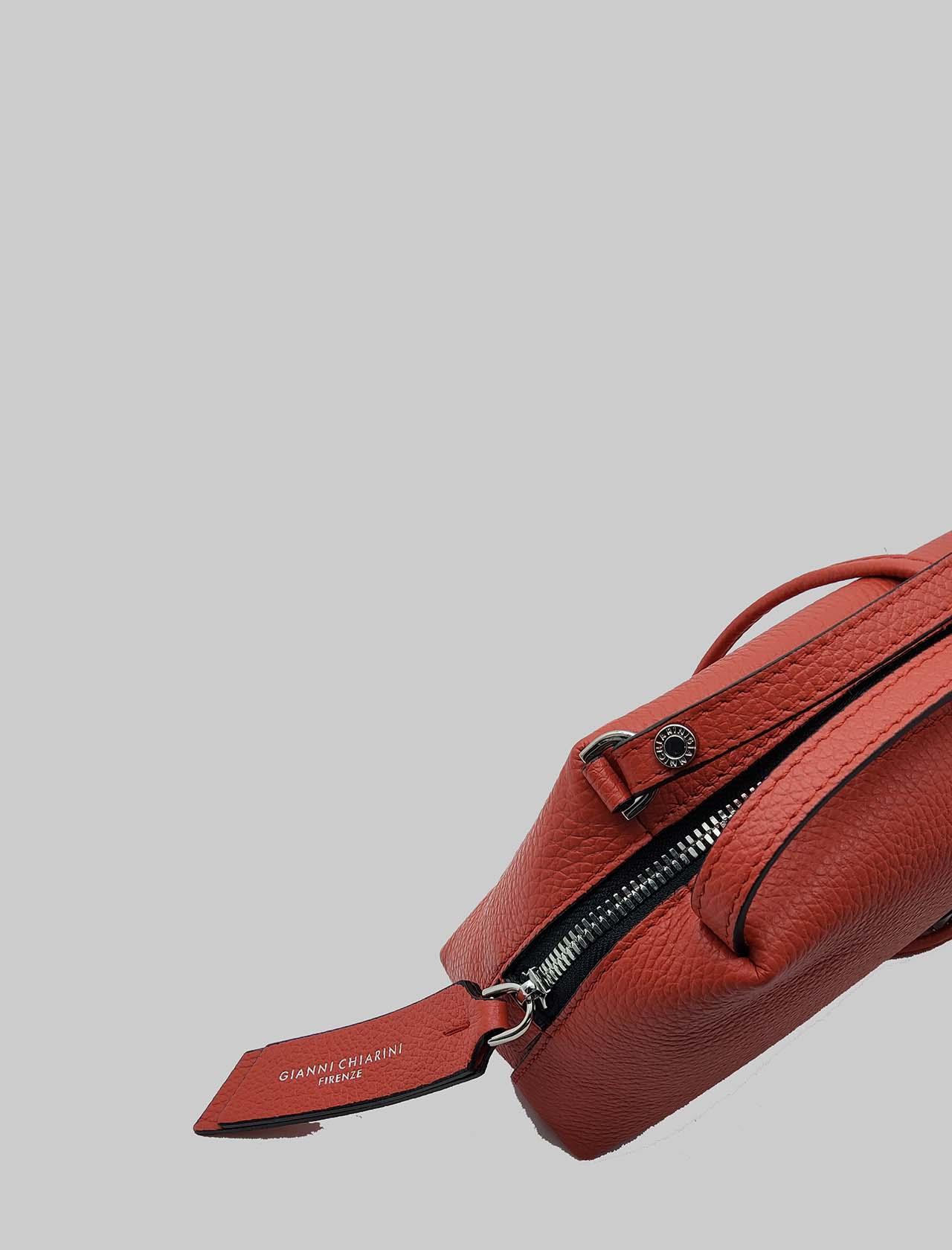 Borsa Donna Mini Alifa in Pelle Rossa con Doppio Manico a Mano e Tracolla Removibile Gianni Chiarini | Borse e zaini | BS814511707