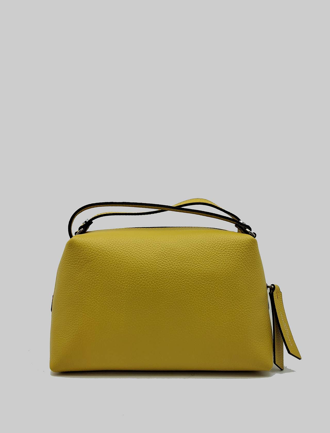 Alifa Woman Bag in Mustard Leather with Double Hand Handle and Removable Shoulder Strap Gianni Chiarini | Bags and backpacks | BS814811040
