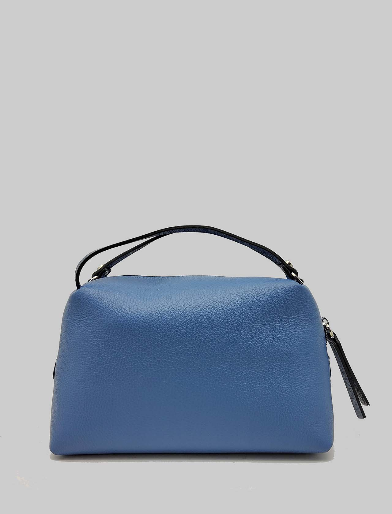 Alifa Woman's Bag in Powder Blue Leather with Double Hand Handle and Removable Shoulder Strap Gianni Chiarini | Bags and backpacks | BS814811710
