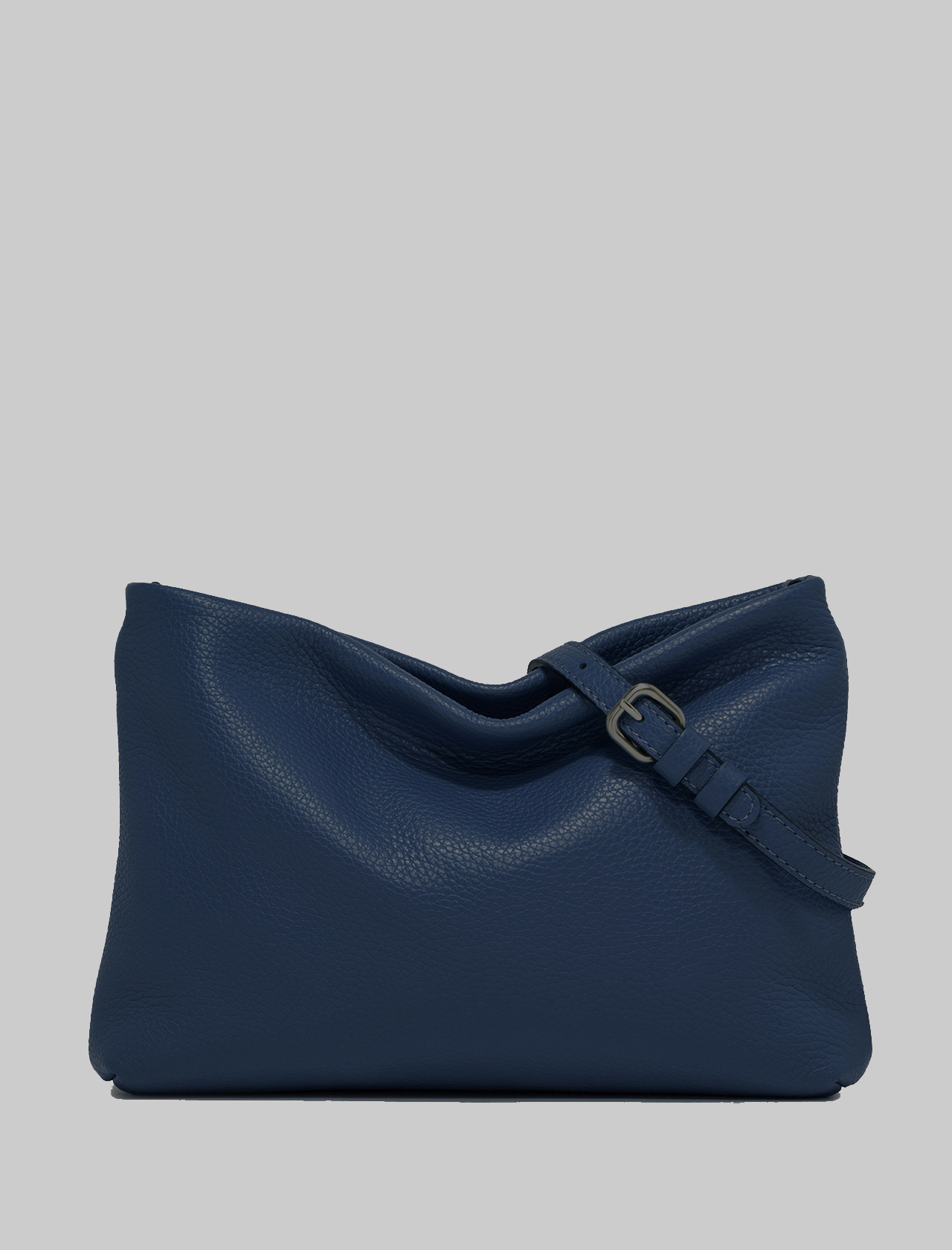 Brenda Woman Shoulder Bag In Blue Leather With Matching Chain And Adjustable And Removable Shoulder Strap Gianni Chiarini | Bags and backpacks | BS82650208
