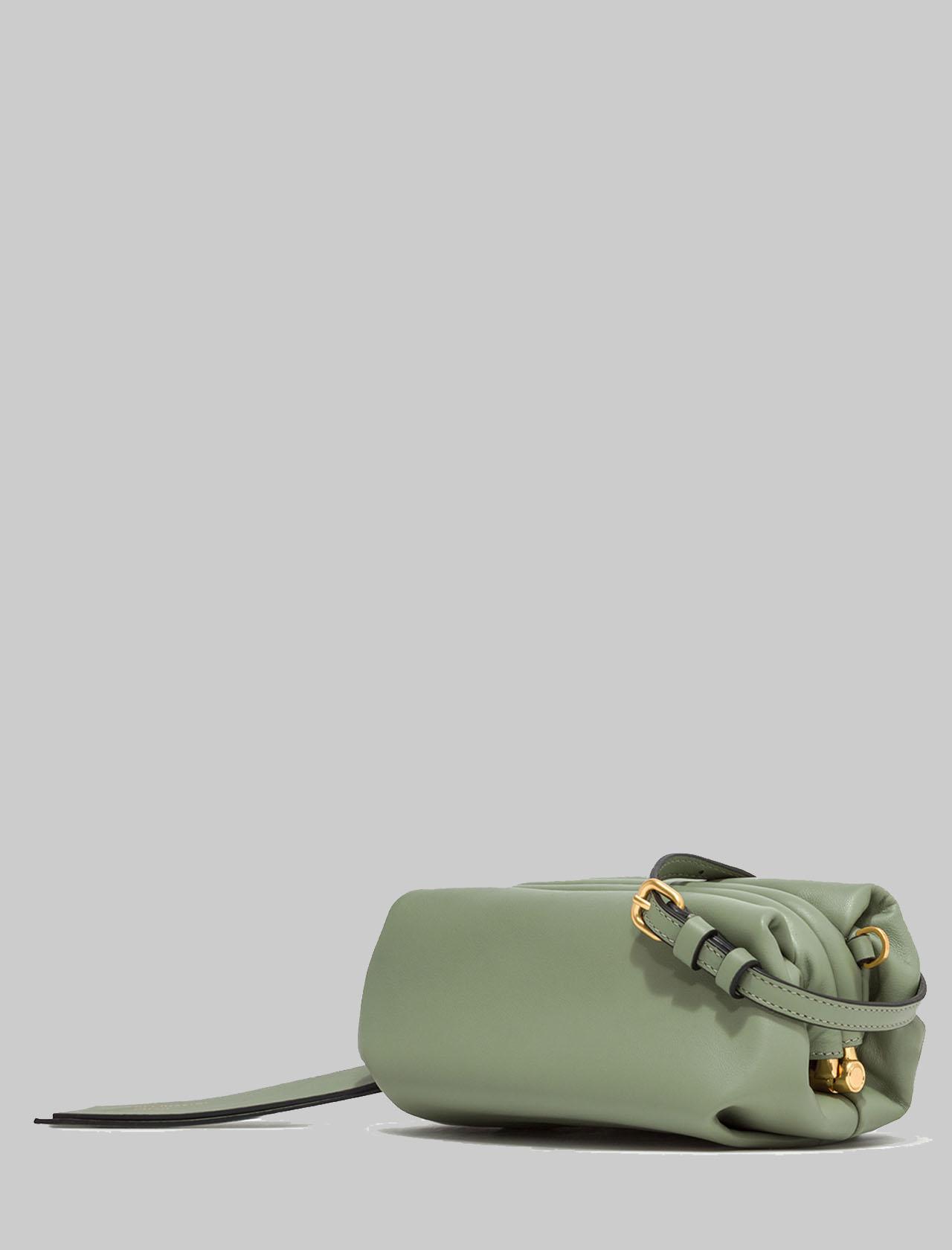 Borsa Donna Mini Colette In Pelle Verde Con Catena Oro E Tracolla In Pelle Removibile E Regolabile Gianni Chiarini | Borse e zaini | BS840411709