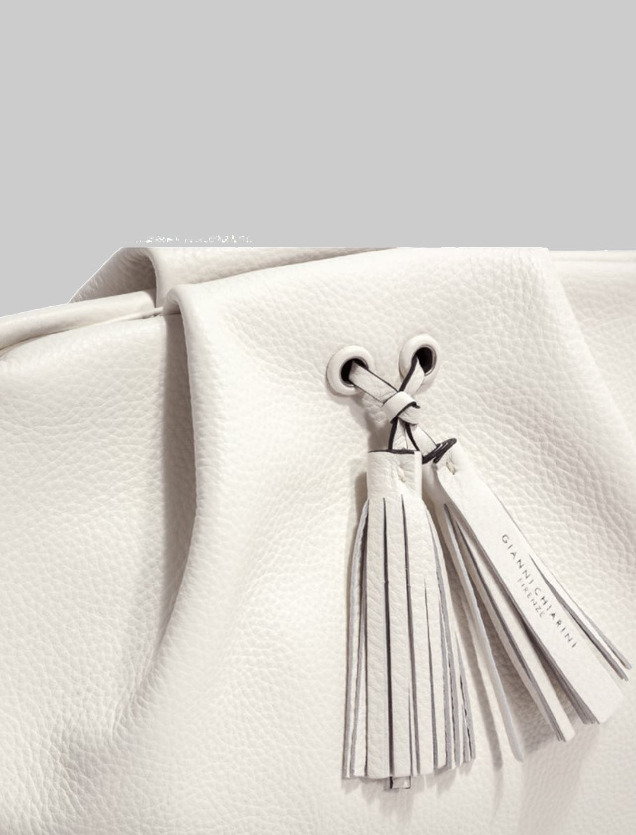 Small Flora Shoulder Bag In Soft Cream Leather With Shoulder Strap Gianni Chiarini | Bags and backpacks | BS84753890