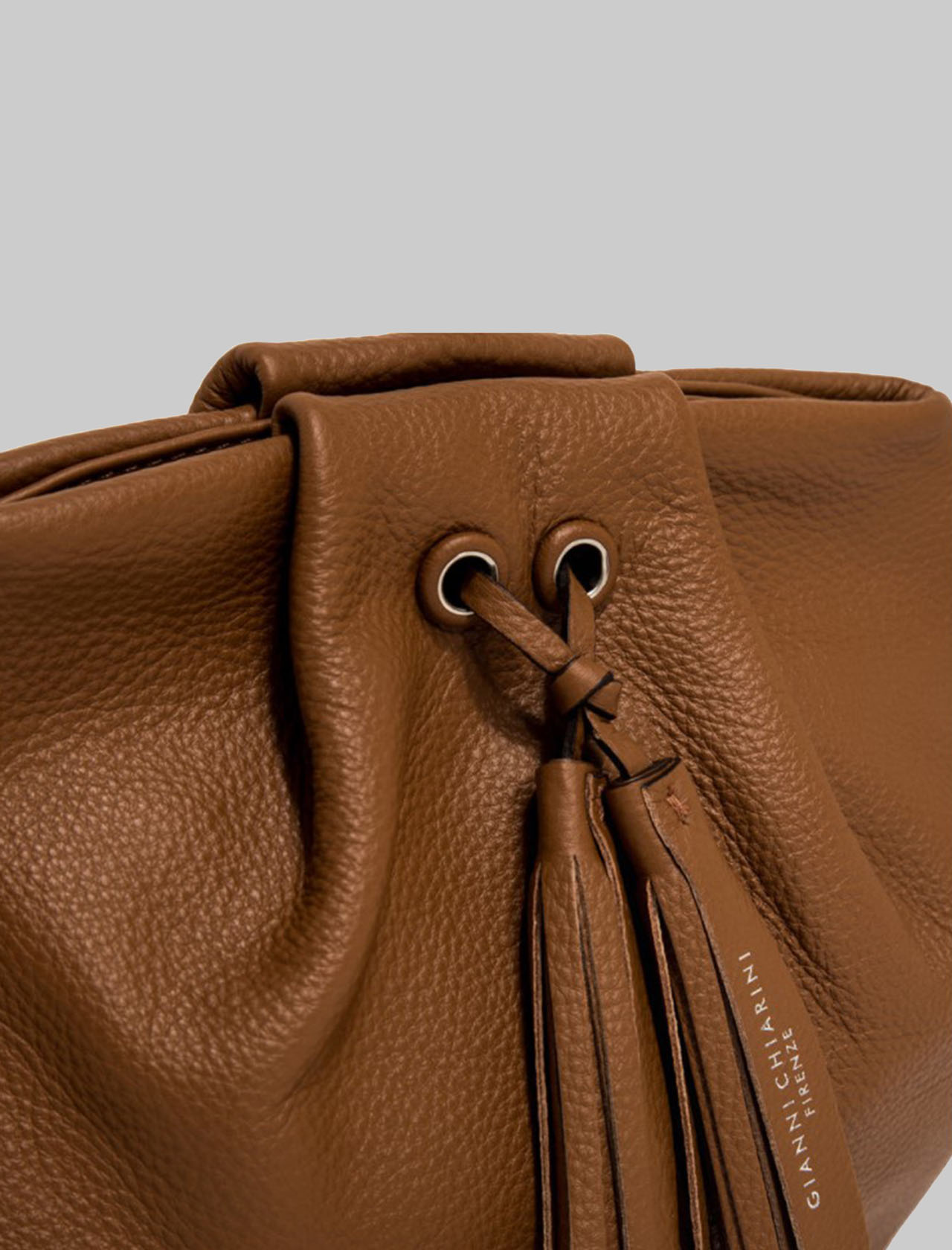 Flora Large Shoulder Bag In Soft Leather With Shoulder Strap Gianni Chiarini | Bags and backpacks | BS8476206