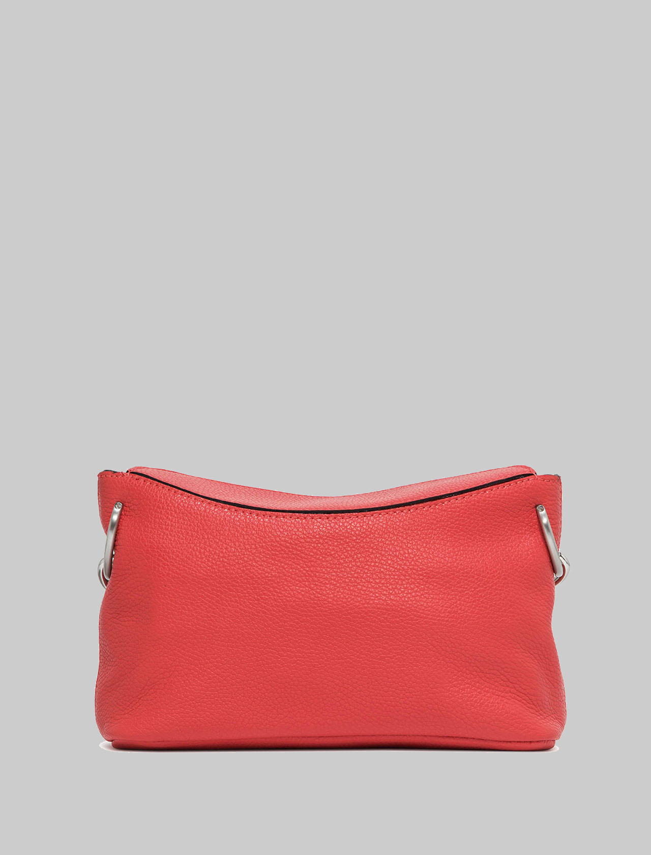 Sophia Woman Shoulder Bag In Red Leather And Silver Chain With Adjustable And Removable Shoulder Strap Gianni Chiarini | Bags and backpacks | BS851611707