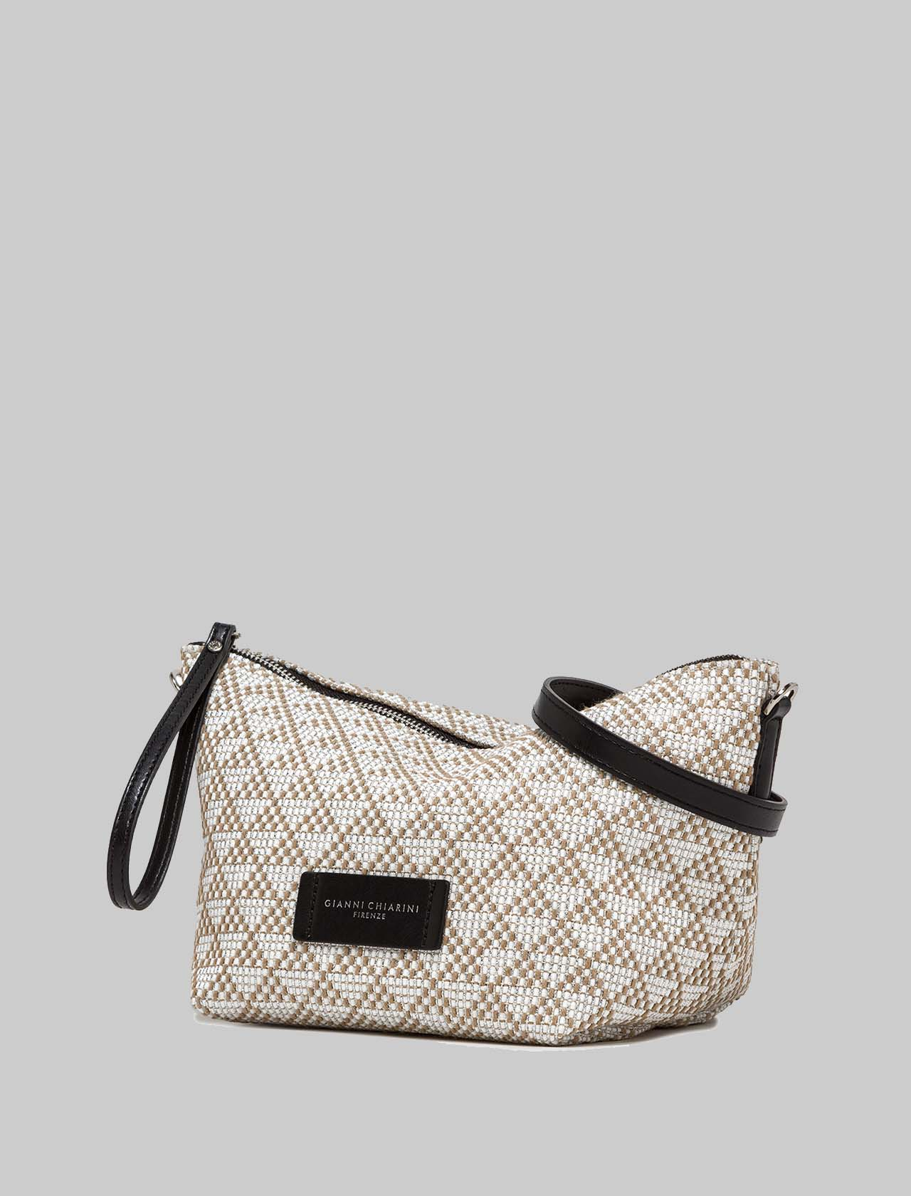Women's Accessories Mini Empty Bags in Beige and Camel Fabric Gianni Chiarini | Bags and backpacks | SB8720009