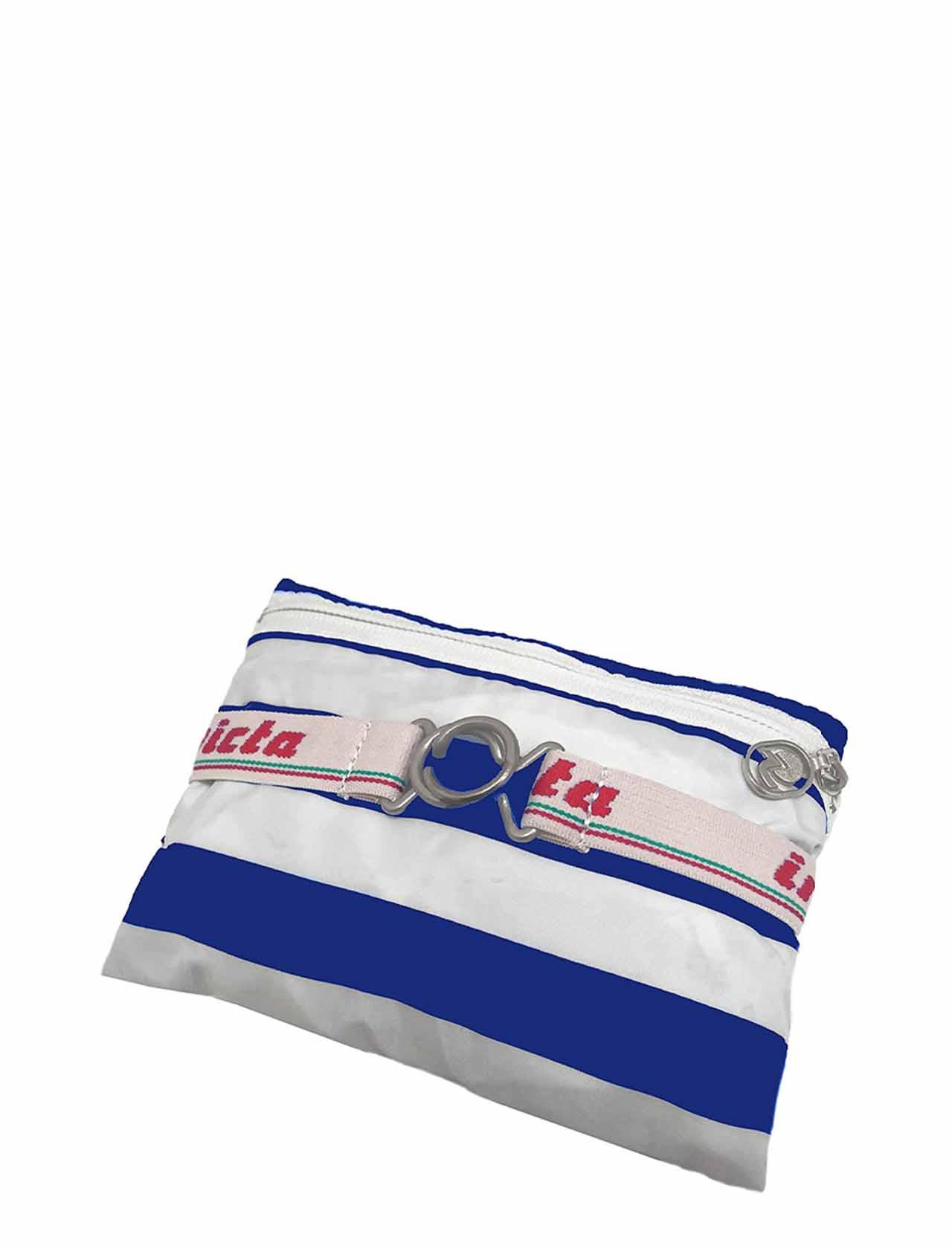 Zaino Unisex Iconico Minisac Bianco e Azzurro Ripiegabile 206001662 Invicta | Borse e zaini | MINISAC585