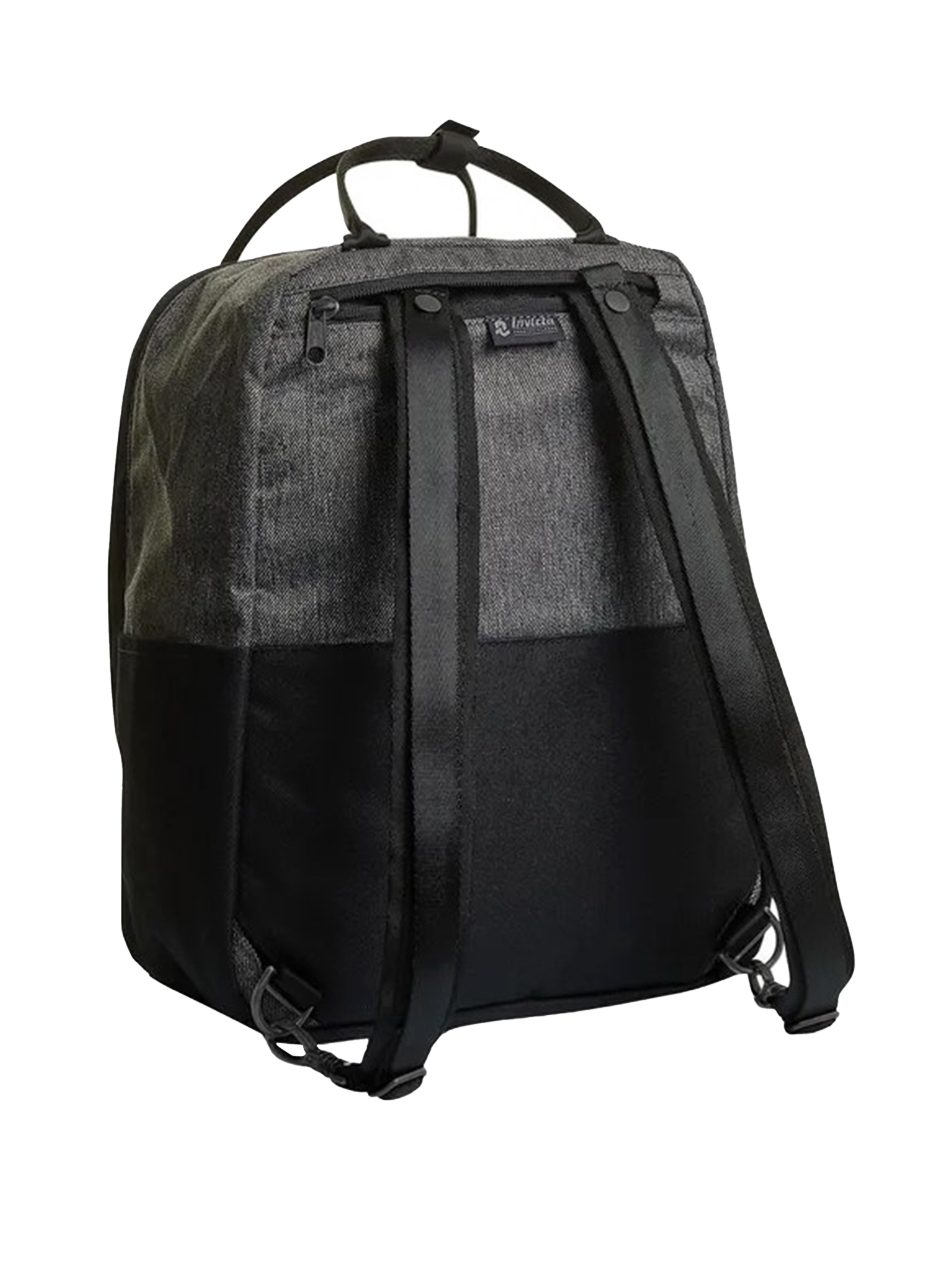 Unisex Icon Collection Shylla Black Monochrome Backpack with Padded Back and Shoulder Straps 206002115 Invicta | Bags and backpacks | SHYLLAPREMIUM899