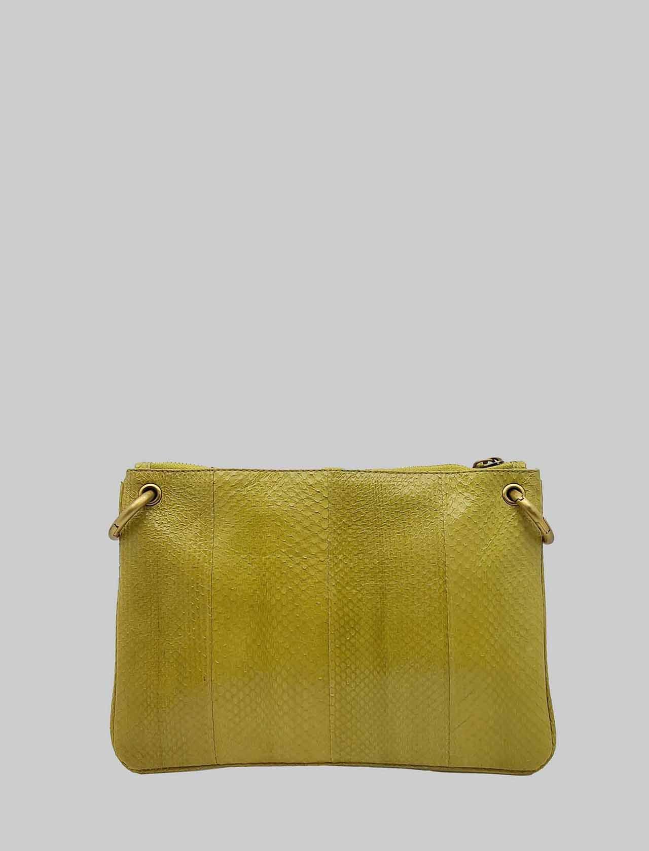 Borsa Donna Tracolla Piccola Exotic Woven in Wips Verde Cedro con Tracolla Removibile in Tinta Maliparmi | Borse e zaini | BD00670143660032