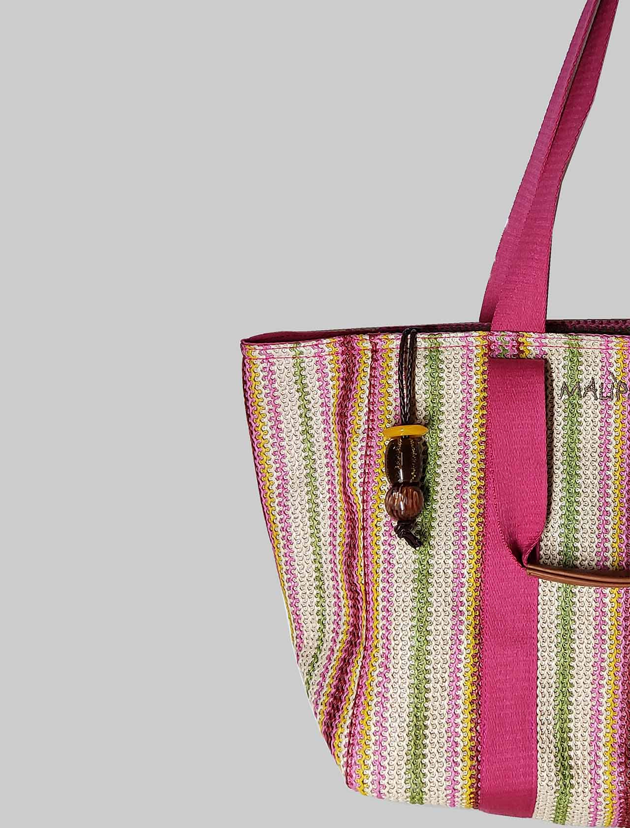 Woman Sea Shopping Summer Bag In Multicolor Rafia Maliparmi | Bags and backpacks | BH02609078099000