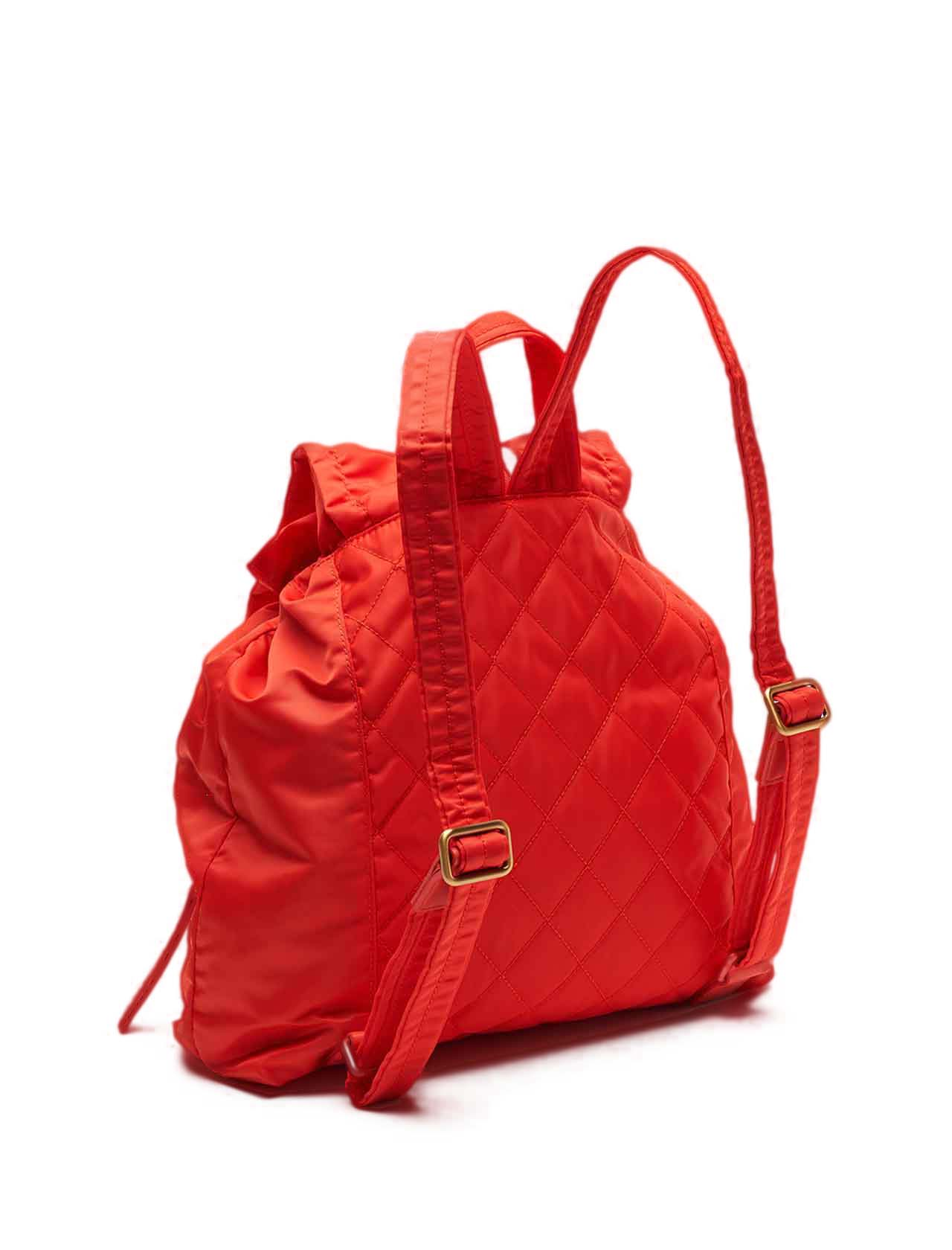Woman Backpack in Red Nylon with Double Pocket and Metello Clip Closure Maliparmi | Bags and backpacks | BZ00346004130001