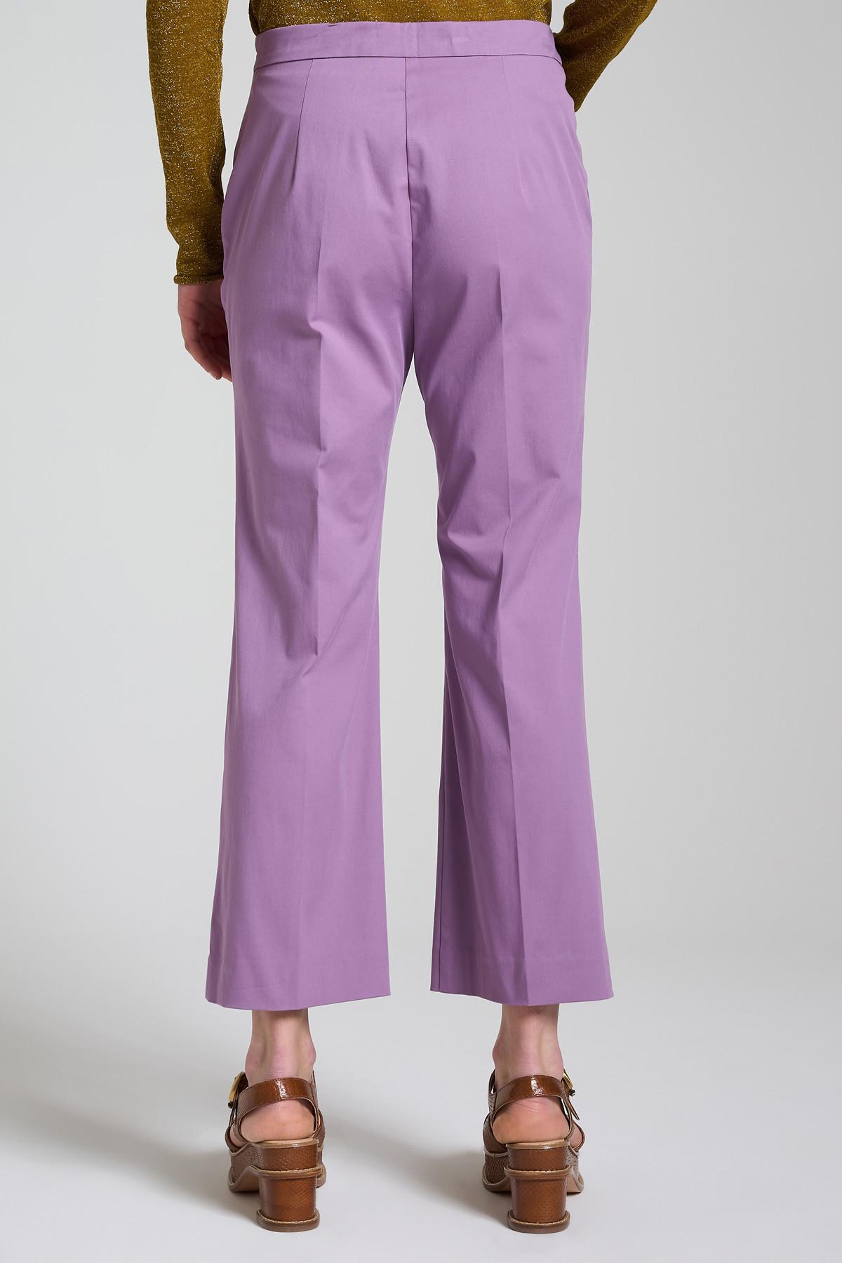 Women's Clothing Stretch Gabardine Wisteria Trousers Maliparmi | Skirts and Pants | JH71441013651036
