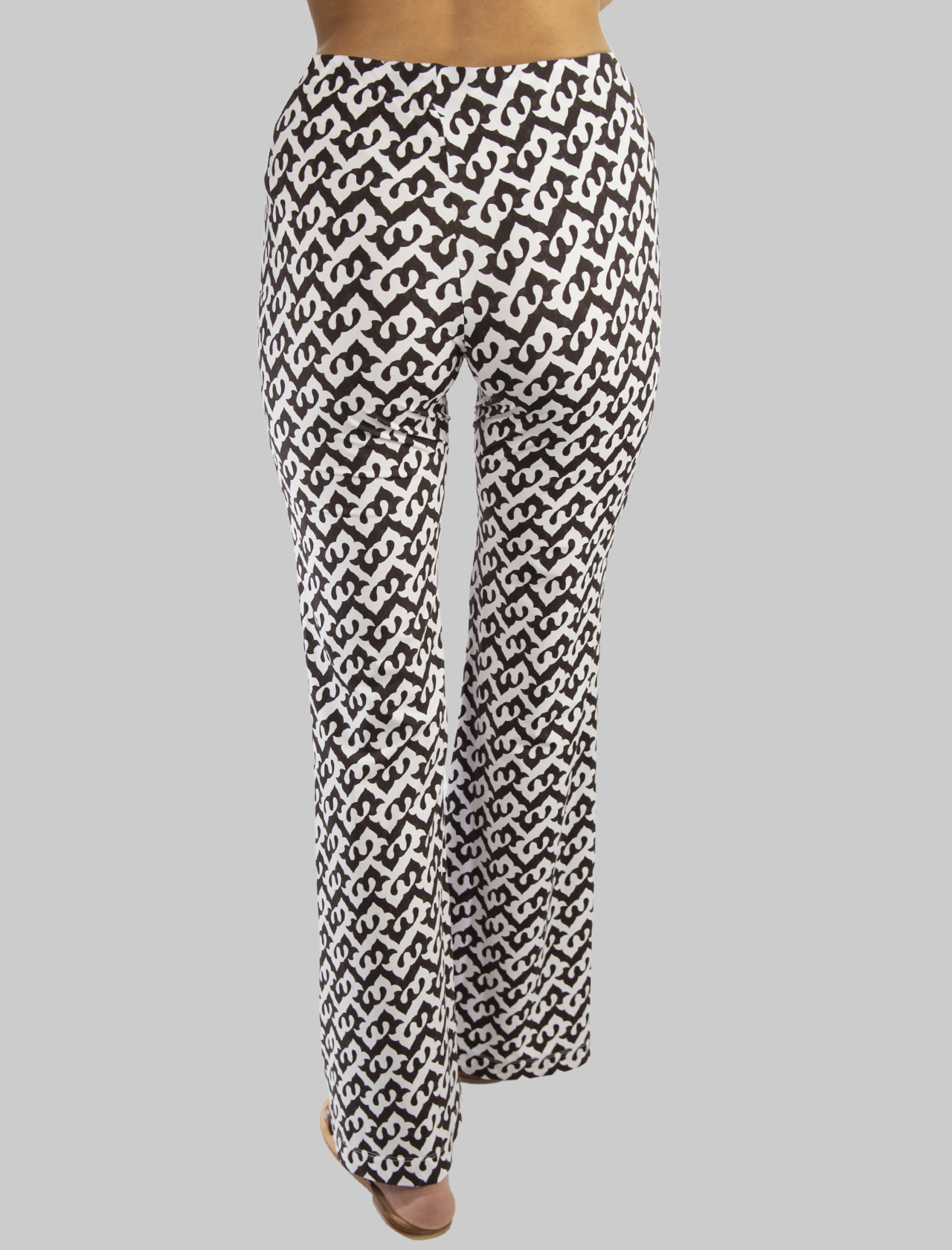 Women's Clothing Ceres Drop Trousers in Brown and Natural Jersey Maliparmi | Skirts and Pants | JH719570498B4069