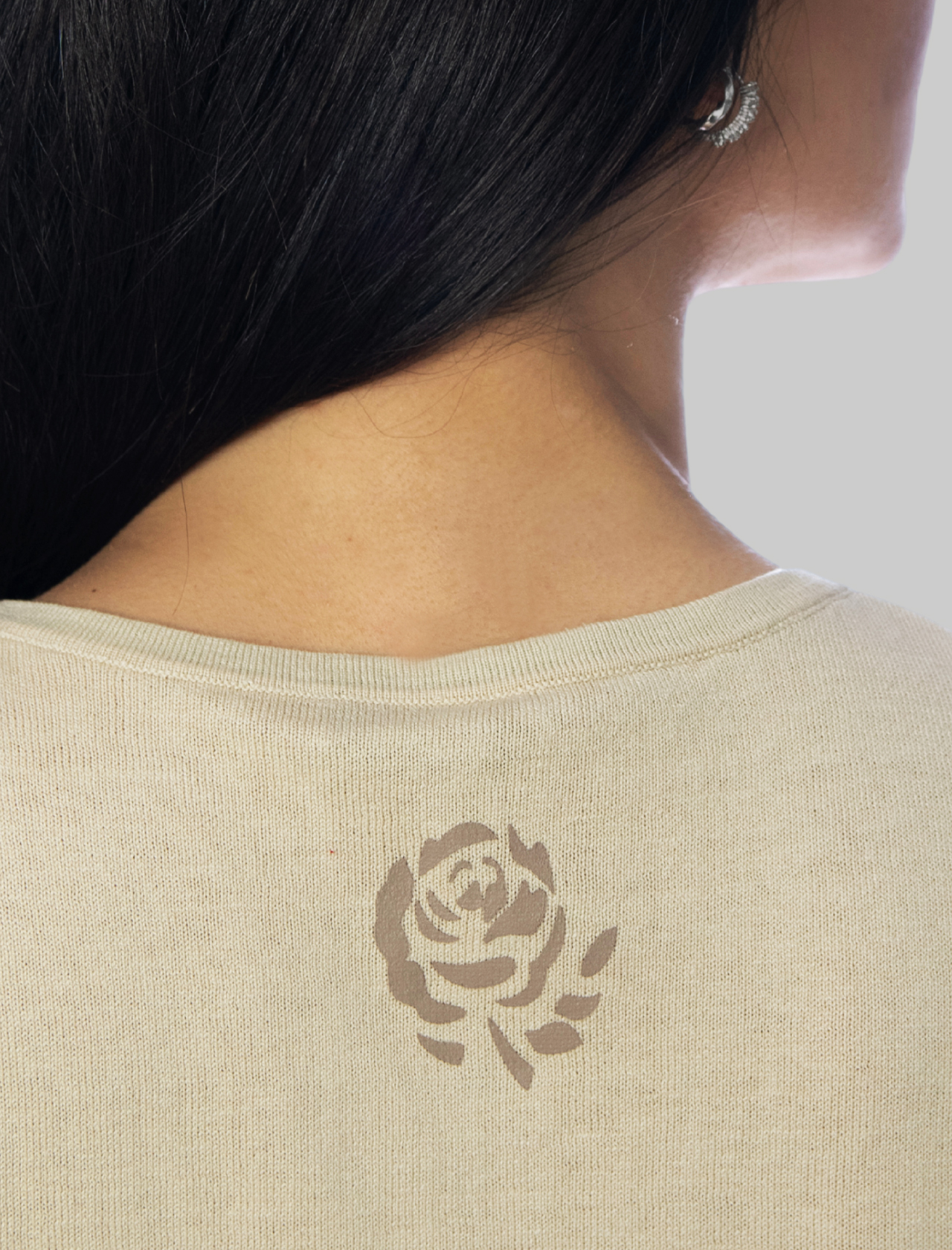 Women's Clothing Colors of the World Cardigan in Silk and Sand Cotton Maliparmi | Knitwear | JN21827807411001