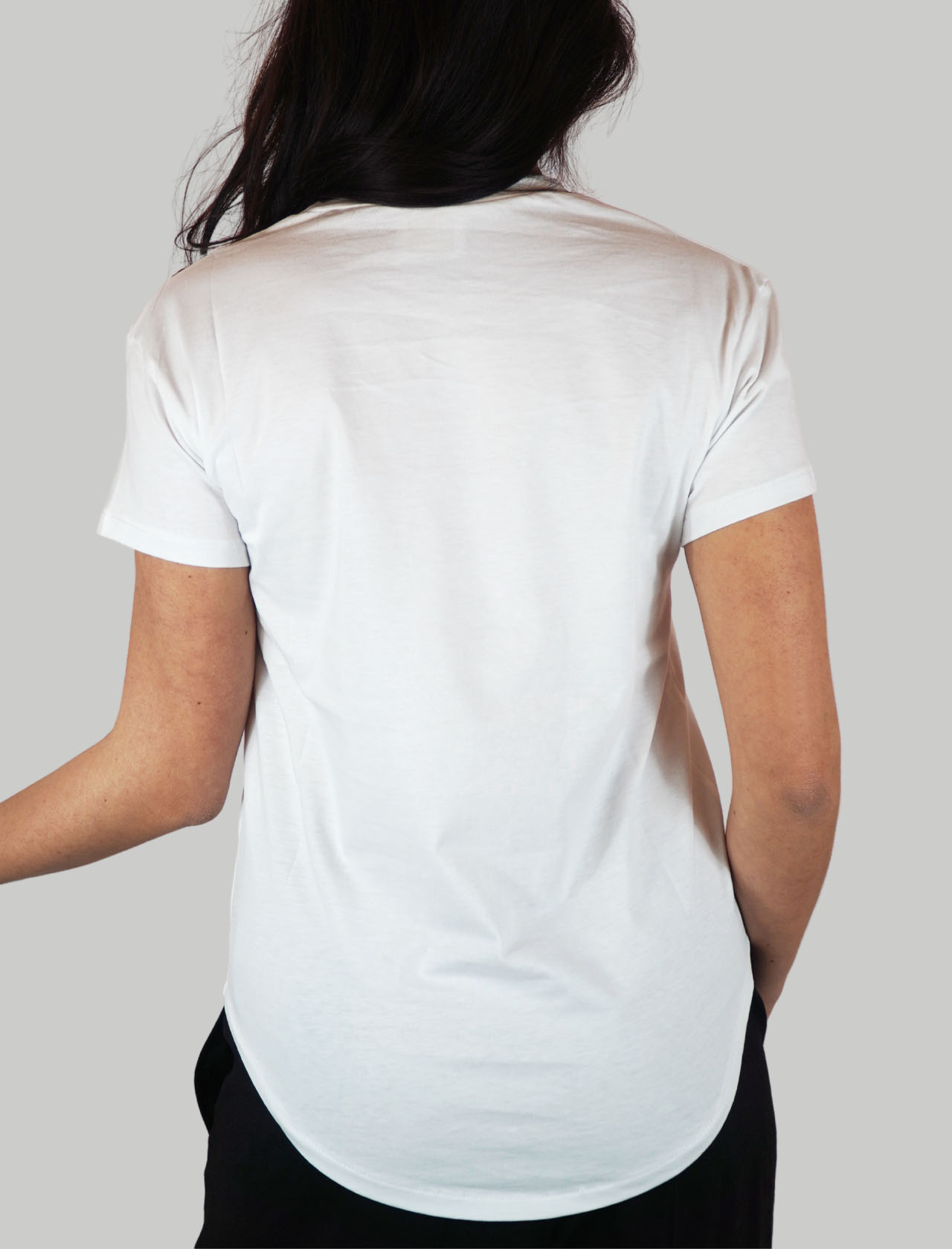 Women's Clothing White Cotton T-shirt You Are My Favorite with Gold Writing Mercì | Knitwear | M304PP100