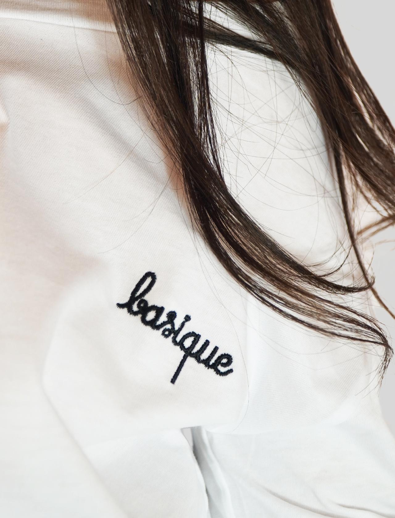 Abbigliamento Donna Maglia in Cotone Bianco Basique Manica Lunga Mercì | Maglieria | MM235100