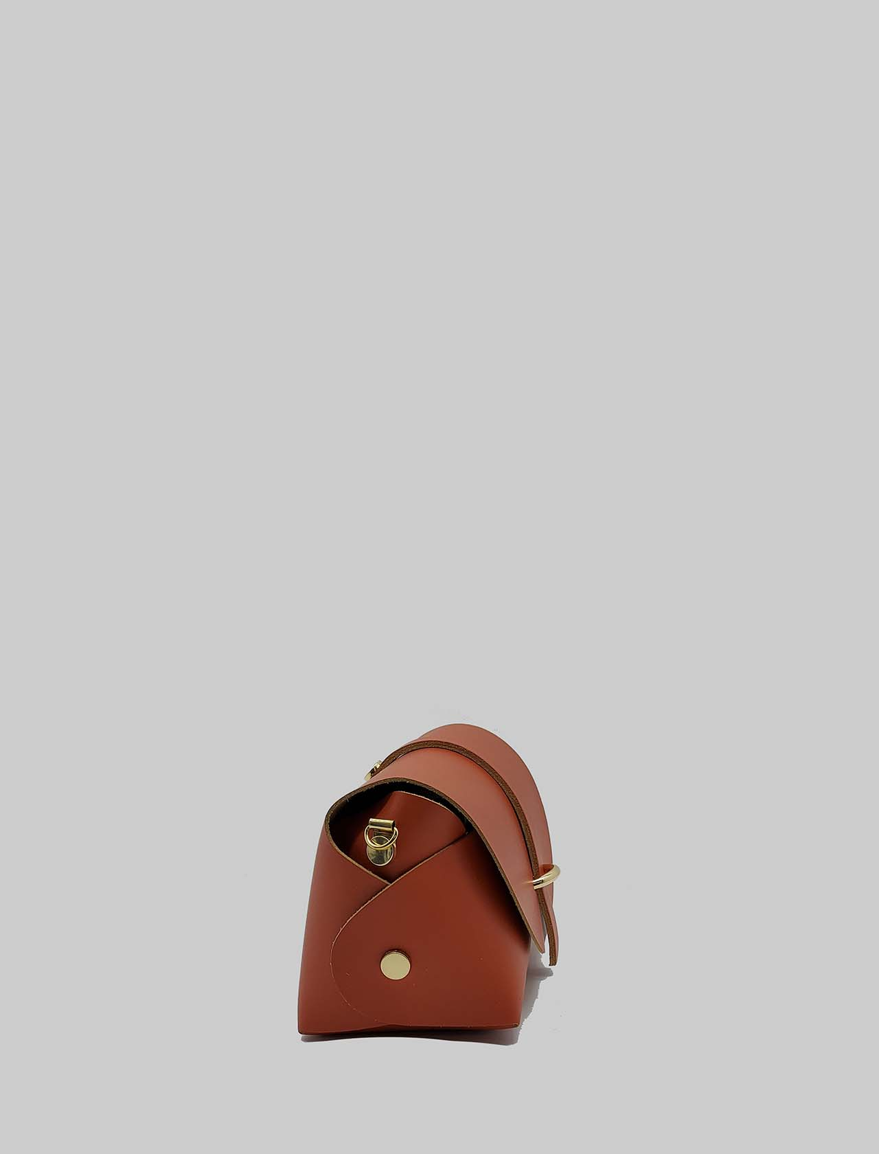 Women's Bags Small Satchel in Coral Leather with Removable Shoulder Strap Spatarella   Bags and backpacks   PE0202020