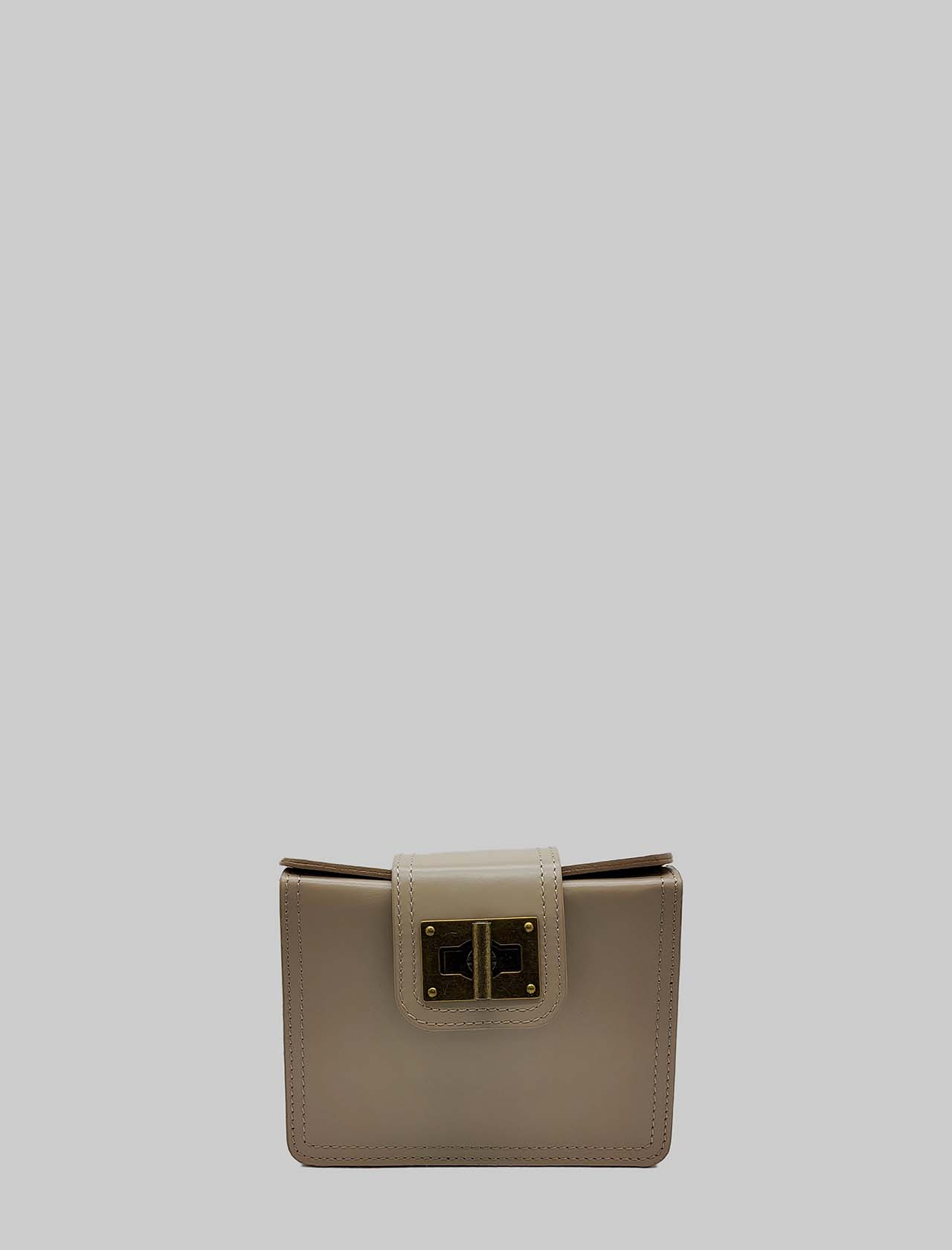 Women's Bags Clutch in Small Nude Leather with Adjustable Leather Rigid Shoulder Strap Spatarella | Bags and backpacks | PE0204300