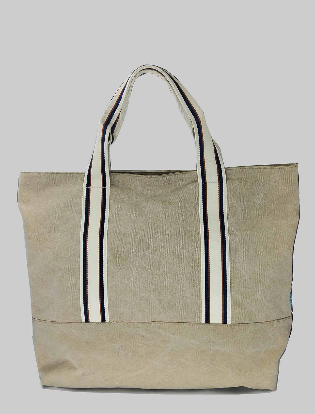 Shoulder Bag Woman Bag in Natural Fabric with Bicolor Handles Unisa | Bags and backpacks | ZSYBIL200