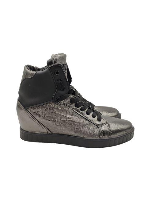 Sneakers Donna Stivaletto Eco Pelle Woz | Sneakers | ART10DM1917PIOMBO