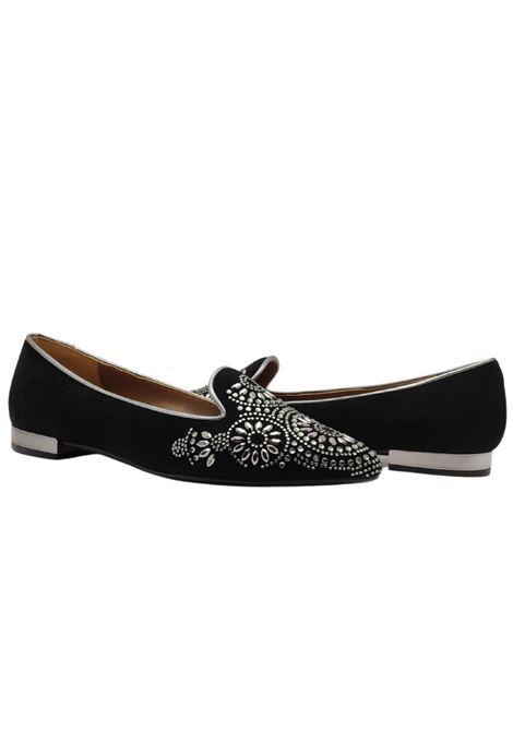 Women's Beaded Studs Loafers Spatarella | Mocassins | HINGRIDNERO