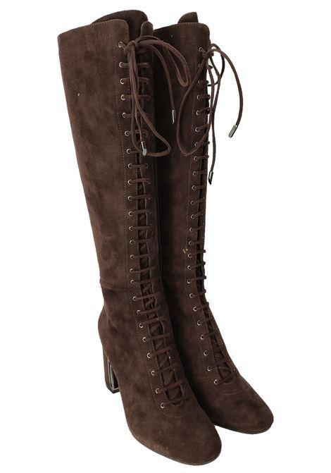 Stivali Lacci Tacco Alto Donna Bruno Premi | Stivali | U3302GMORO