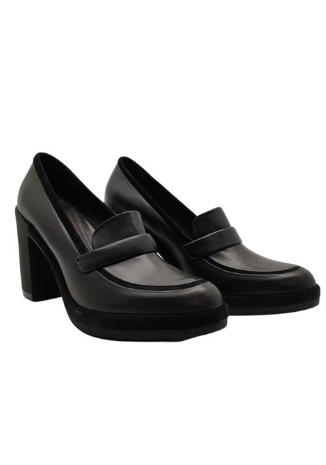 Wedge Loafers Woman Gianni De Simone | Mocassins | 6229NERO